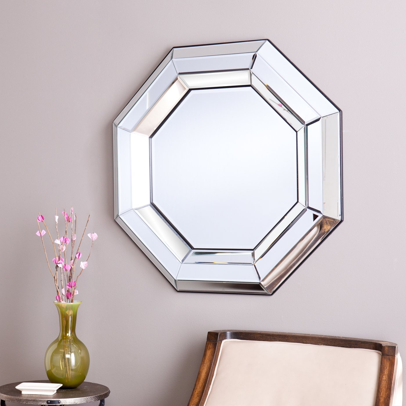 Decorative Wall Mirrors Wade Logan Decorative Wall Mirror in Boyers Wall Mirrors (Image 14 of 30)