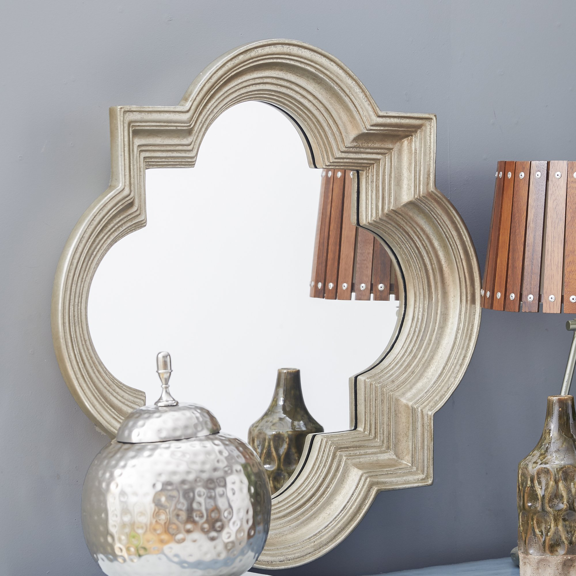 Decorative Wall Mirrors Wade Logan Decorative Wall Mirror in Boyers Wall Mirrors (Image 13 of 30)