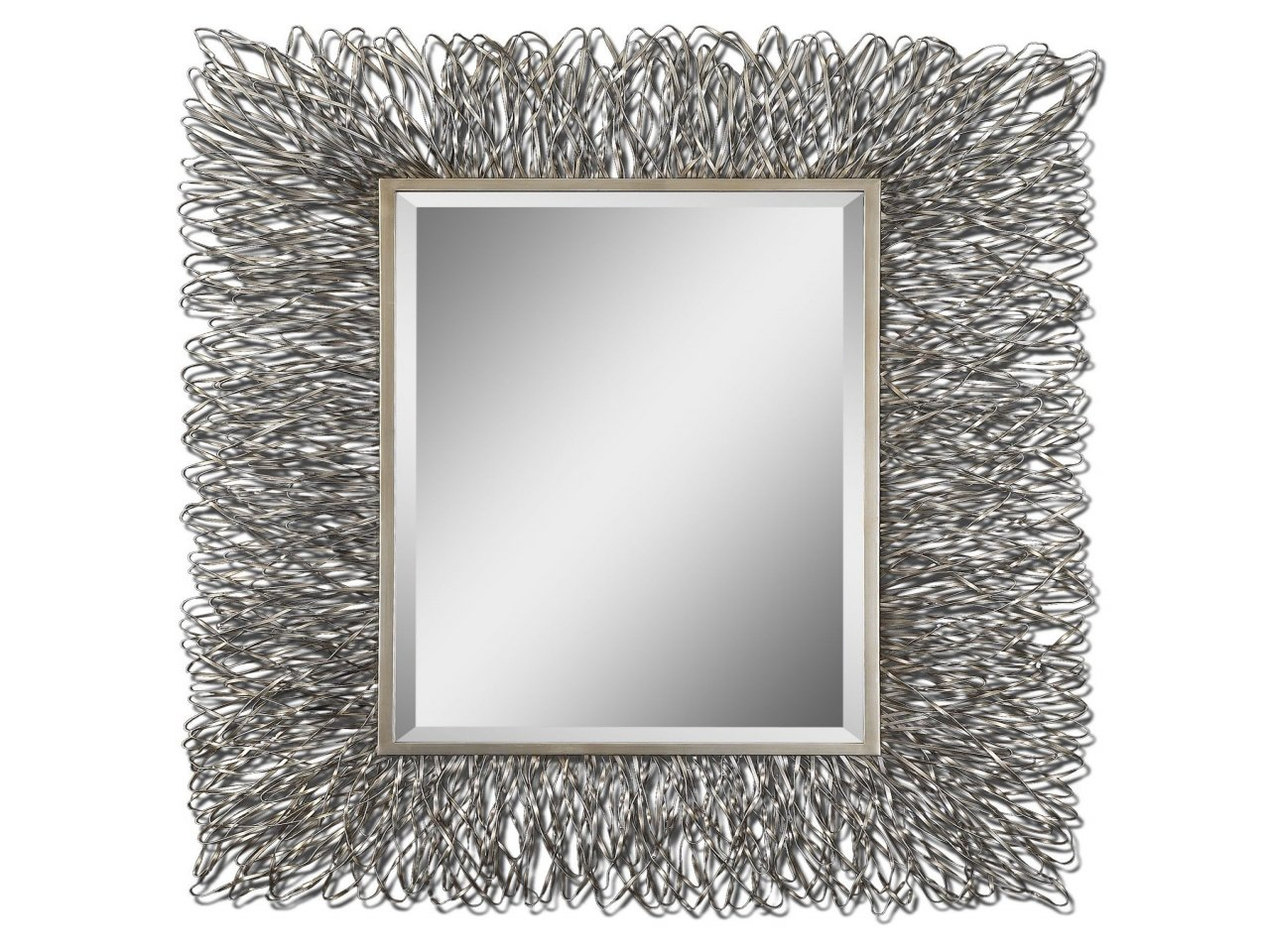 Decorative Wall Mirrors Wade Logan Decorative Wall Mirror intended for Boyers Wall Mirrors (Image 15 of 30)