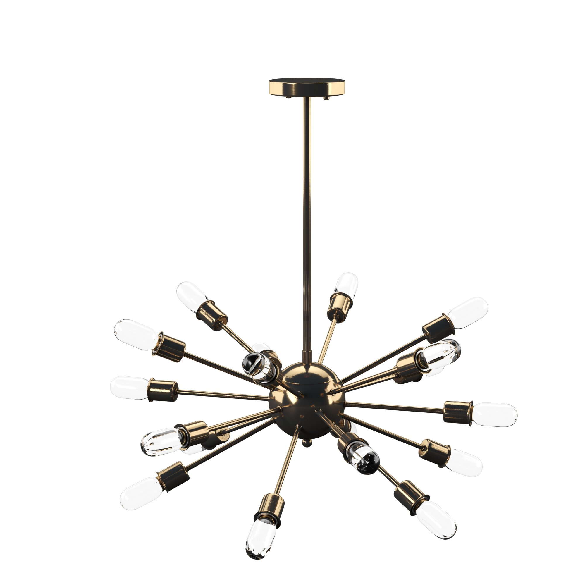 Defreitas 18 Light Sputnik Chandelier Regarding Defreitas 18 Light Sputnik Chandeliers (Gallery 1 of 30)