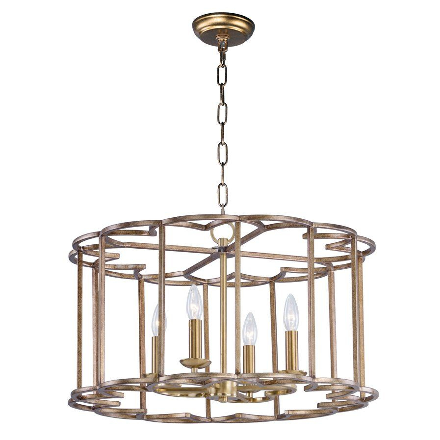 Delana 4 Light Candle Style Chandelier | Dining Room | Maxim Regarding Wightman Drum Chandeliers (Photo 12 of 30)