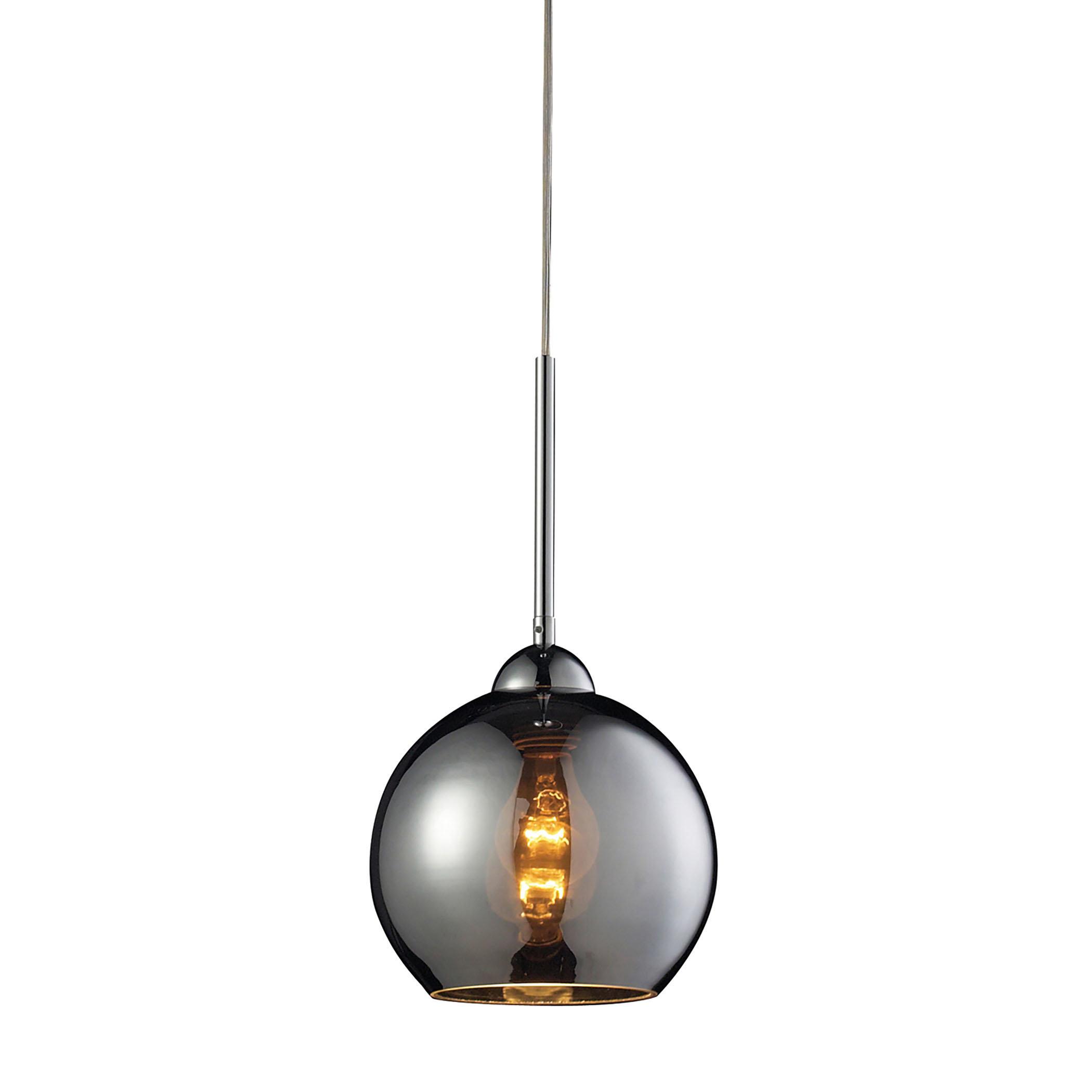 Delia 1 Light Mini Pendant For Devereaux 1 Light Single Globe Pendants (View 13 of 30)
