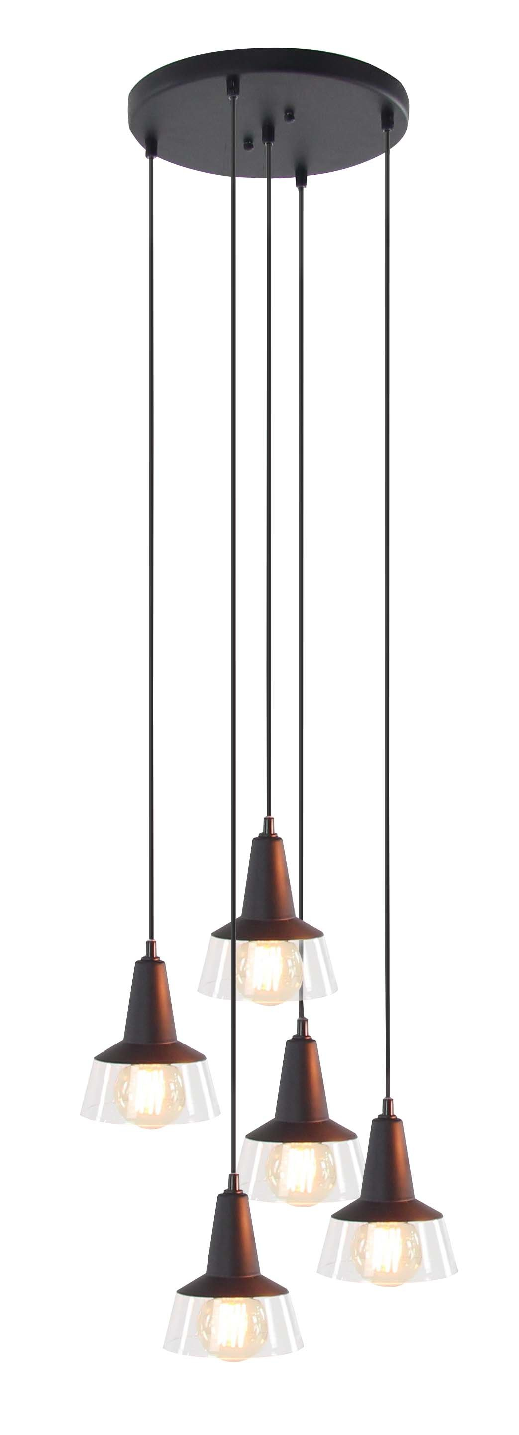 Delia 5 Light Pendant | Wayfair Throughout Balducci 5 Light Pendants (Photo 7 of 30)