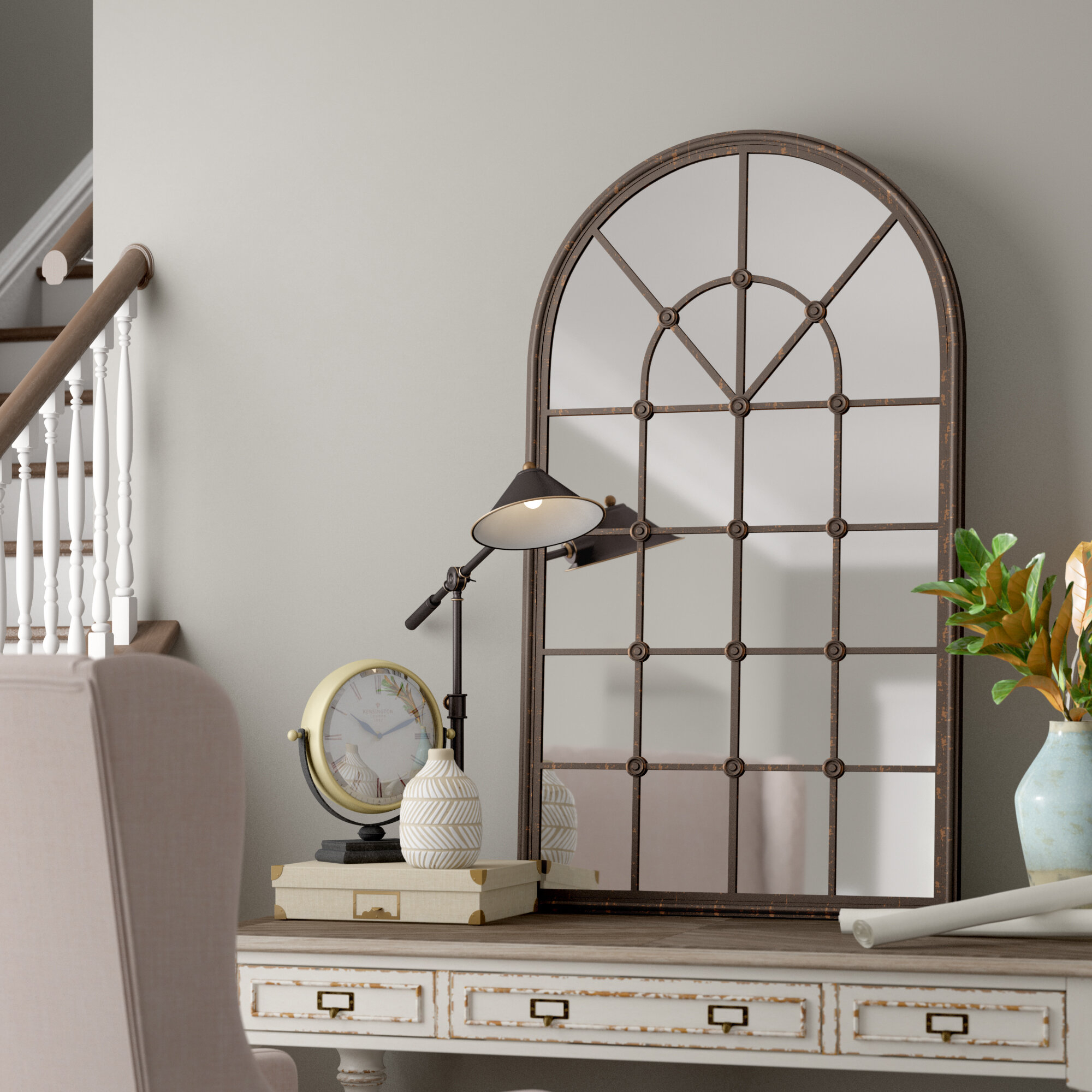 Della Accent Mirror Within Austin Industrial Accent Mirrors (Photo 6 of 30)