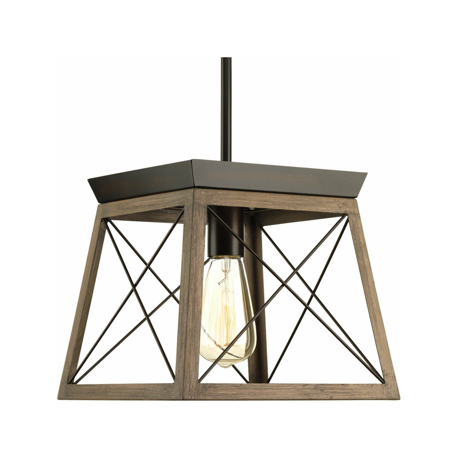 Delon 1 Light Lantern Pendant In 2019 | Home | Lantern Throughout Delon 1 Light Lantern Geometric Pendants (Gallery 6 of 30)