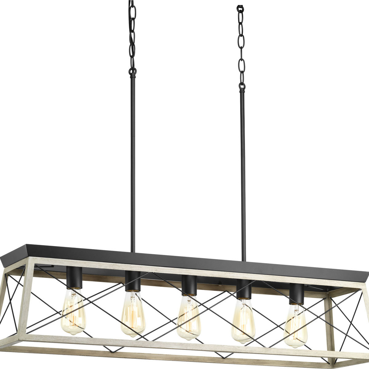 Delon 5 Light Kitchen Island Linear Pendant Intended For Sousa 4 Light Kitchen Island Linear Pendants (Photo 24 of 30)