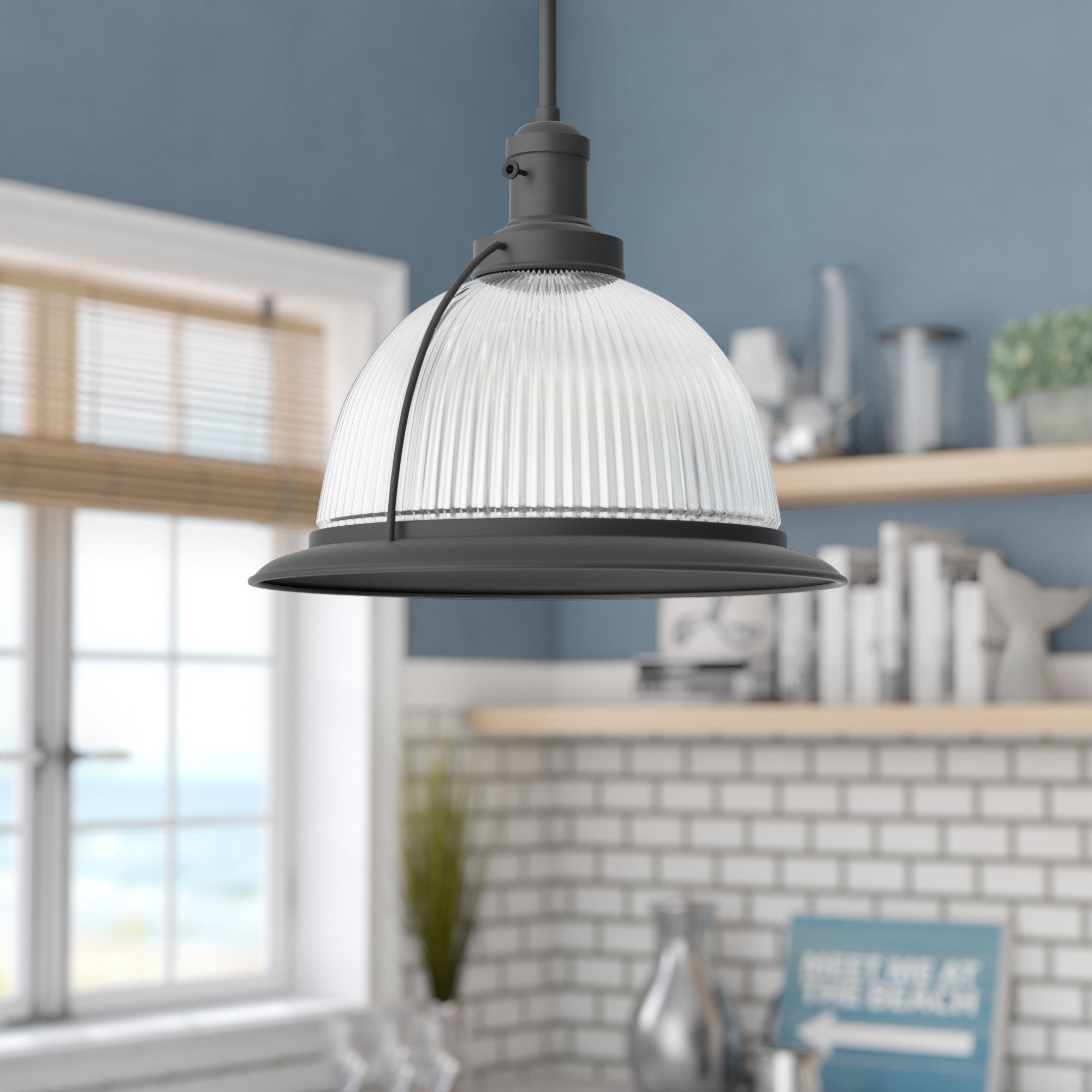 Delway 1 Light Single Dome Pendant With Granville 3 Light Single Dome Pendants (Gallery 8 of 30)