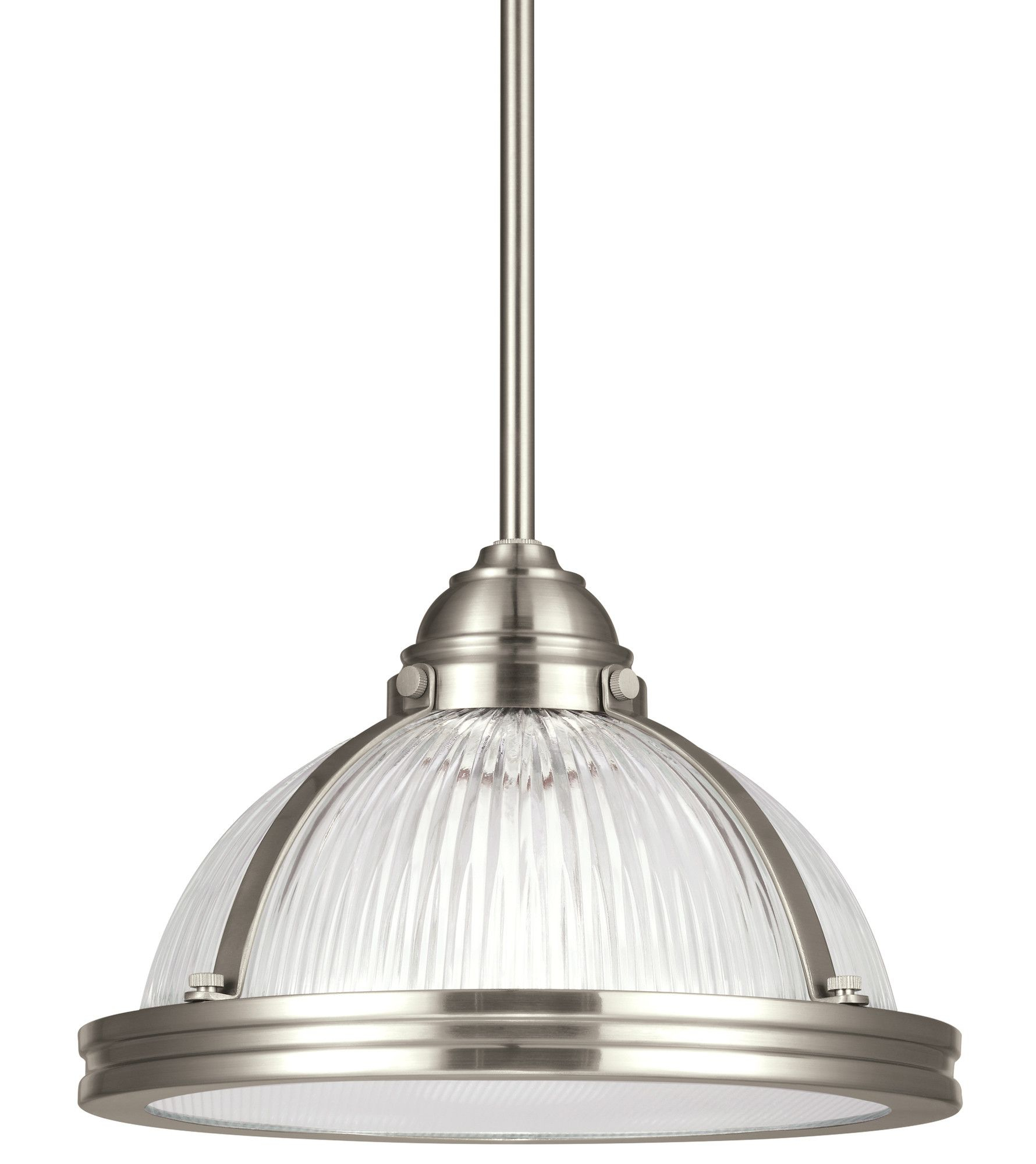 Denton Prismatic 1 Light Inverted Pendant | Products With Regard To Fresno Dome 1 Light Bell Pendants (Photo 15 of 30)
