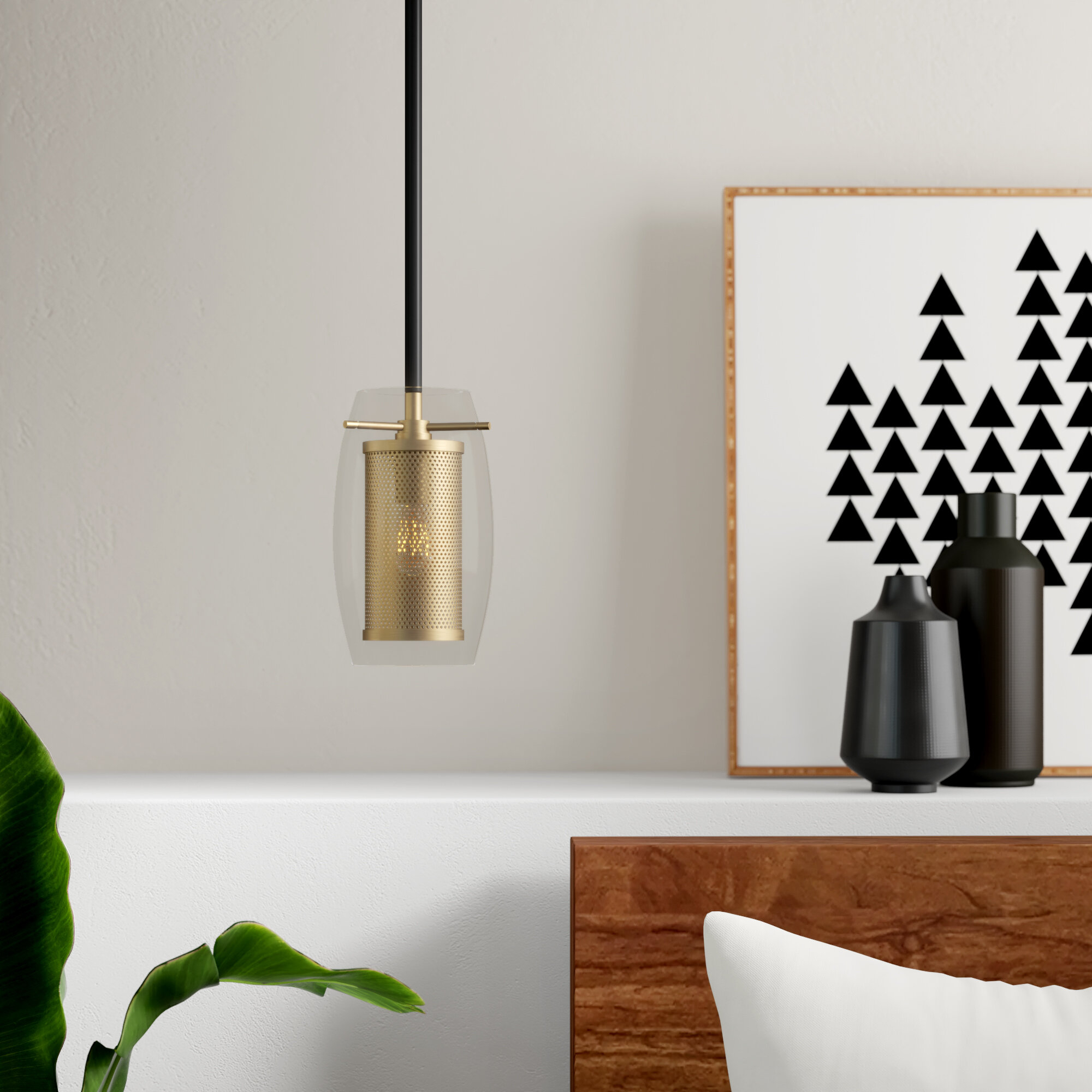 Depp 1 Light Single Cylinder Pendant Throughout Fennia 1 Light Single Cylinder Pendants (Gallery 8 of 30)