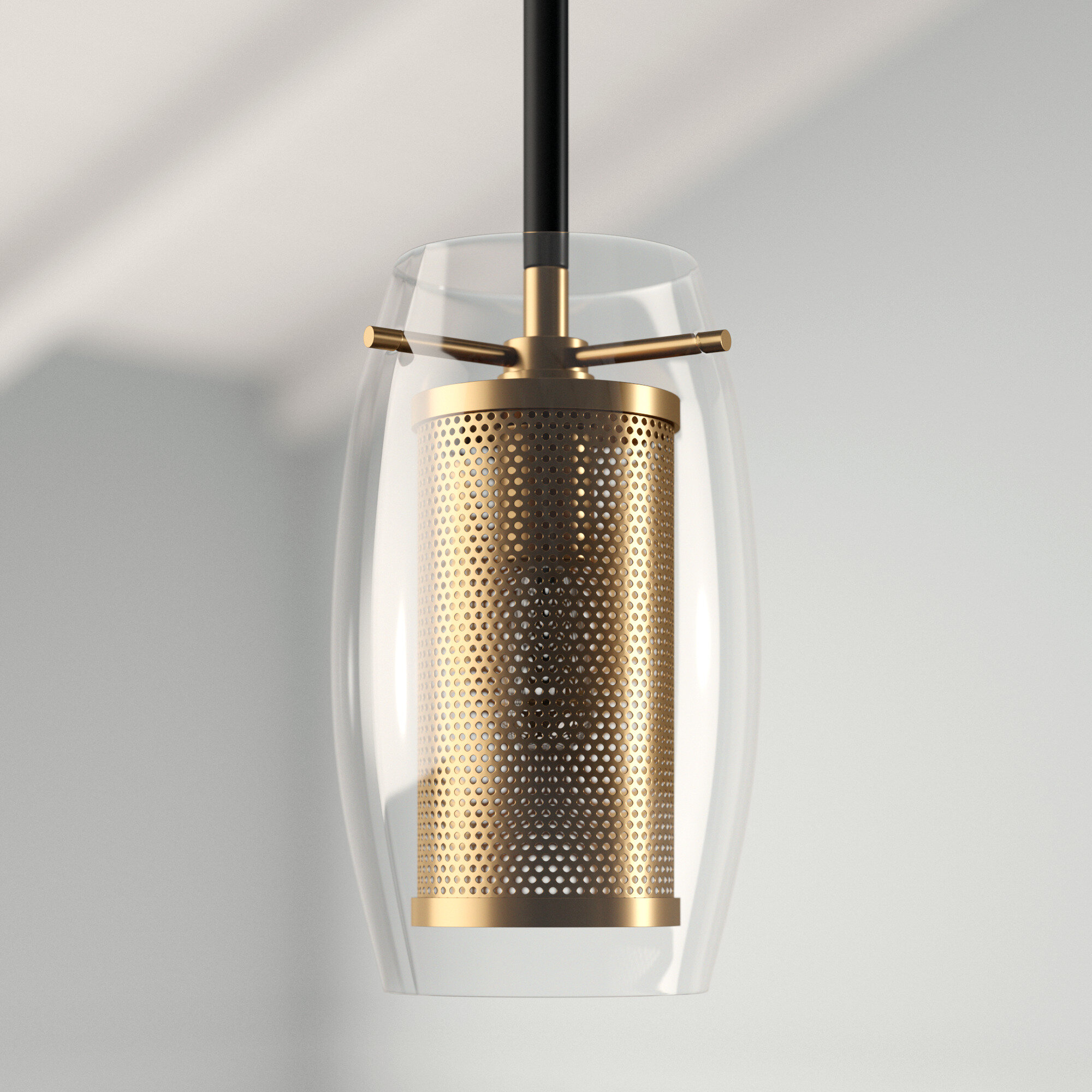 Depp 1 Light Single Cylinder Pendant With Regard To Fennia 1 Light Single Cylinder Pendants (Photo 7 of 30)