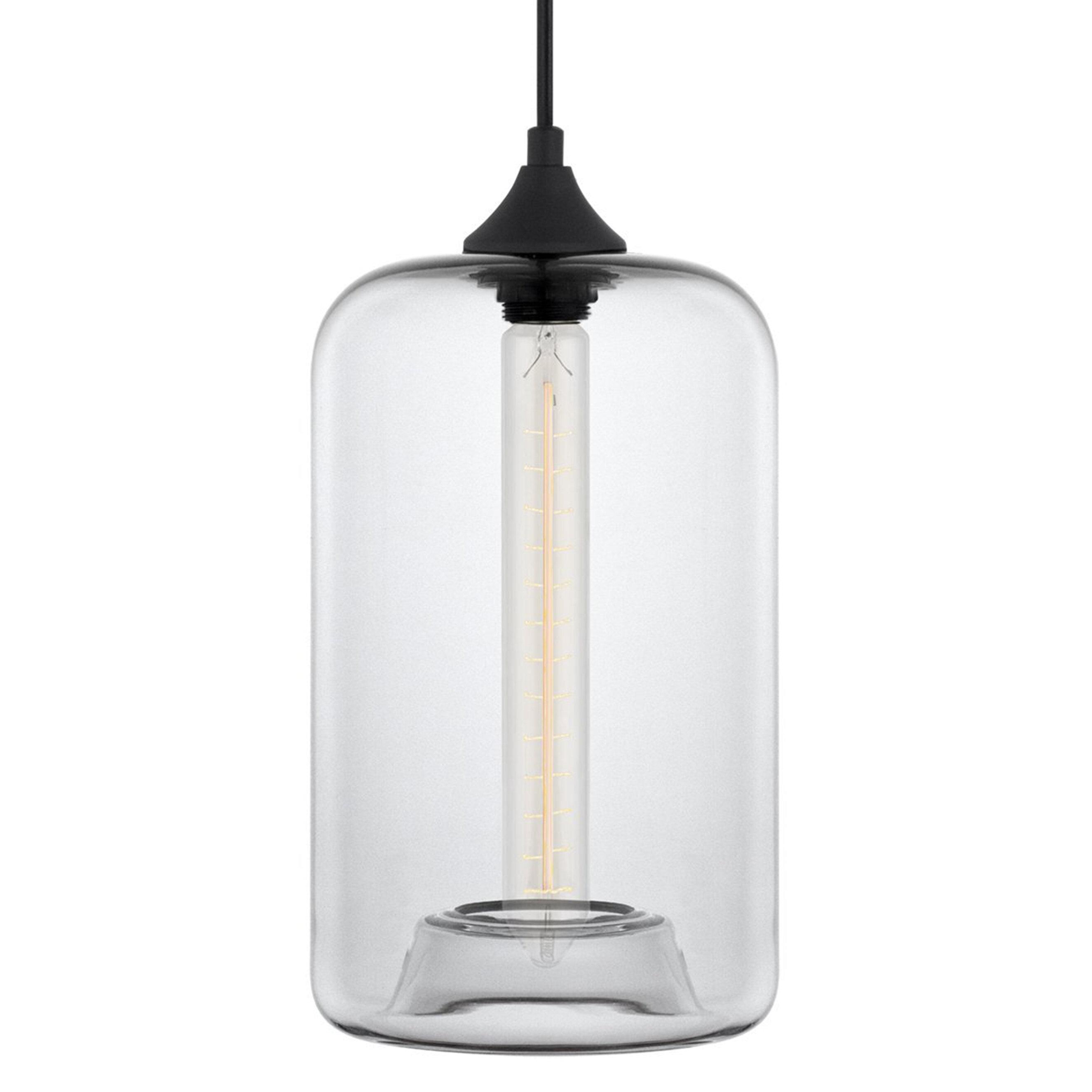 Derek 1 Light Cylinder Pendant Pertaining To Scruggs 1 Light Geometric Pendants (Gallery 20 of 30)