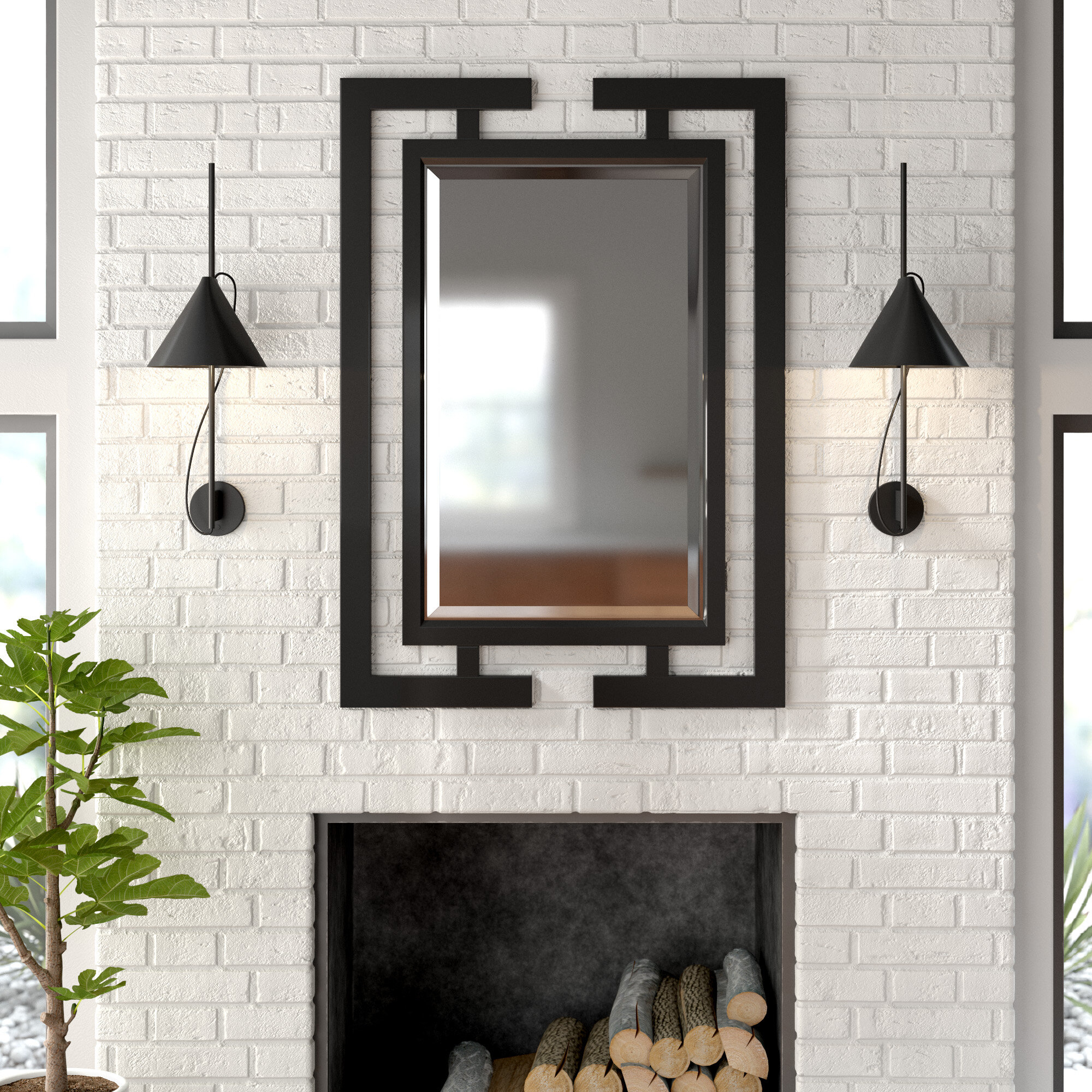Derick Accent Mirror In Rena Accent Mirrors (Gallery 26 of 30)