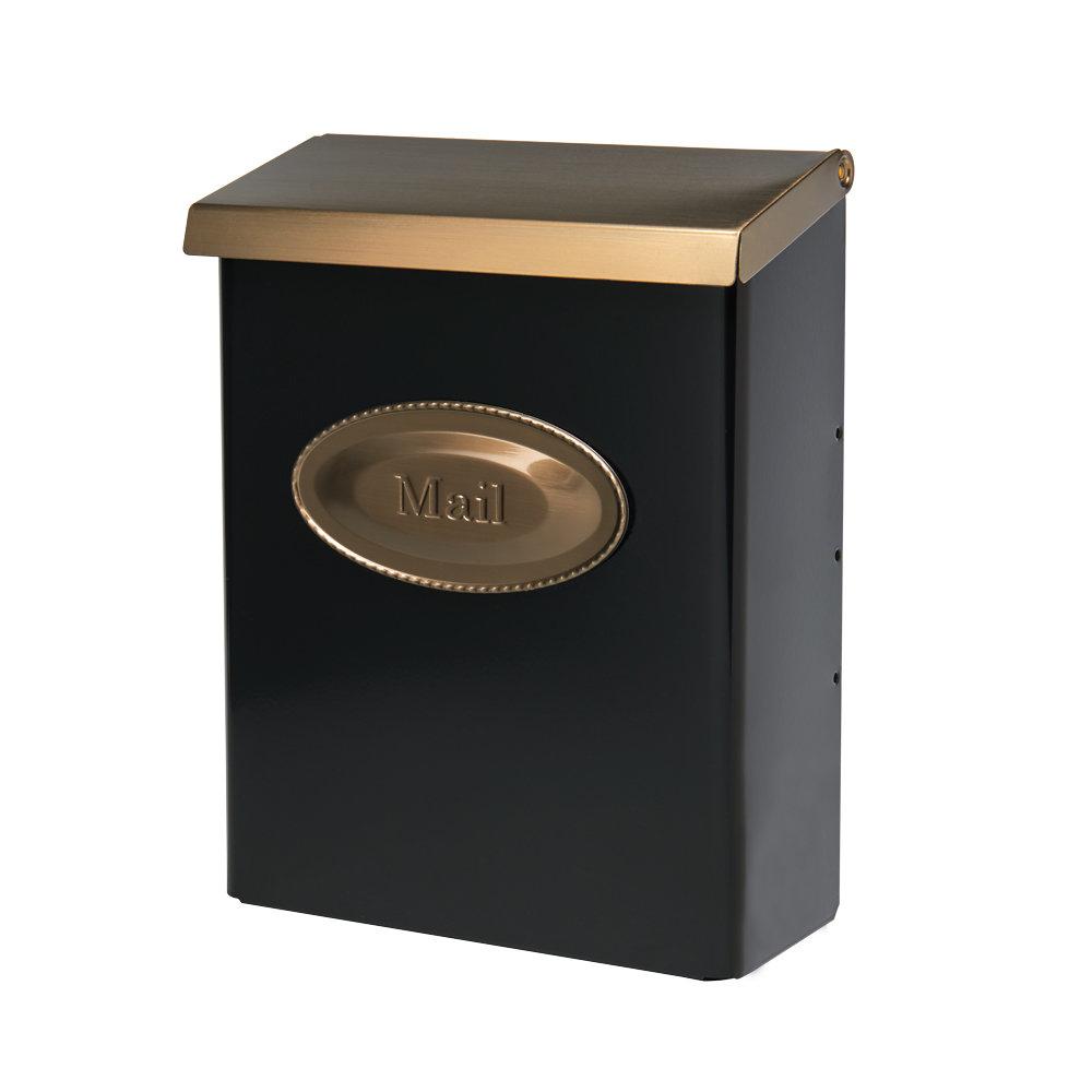 Designer Locking Wall Mounted Mailbox within Lacordaire Wall Mounted Mailbox (Image 9 of 30)