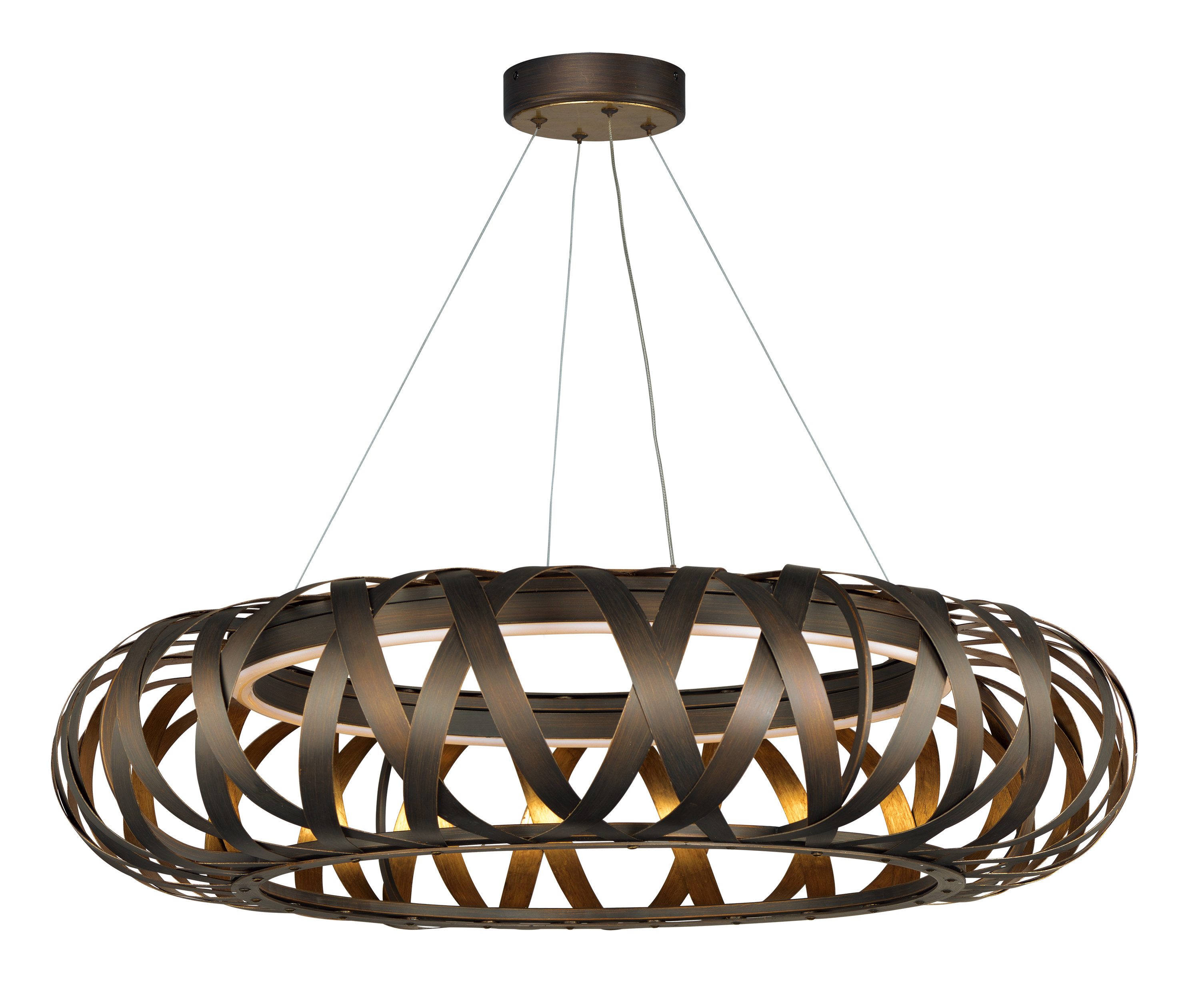 Deskins Entry 1-Light Led Geometric Pendant throughout Melora 1-Light Single Geometric Pendants (Image 9 of 30)