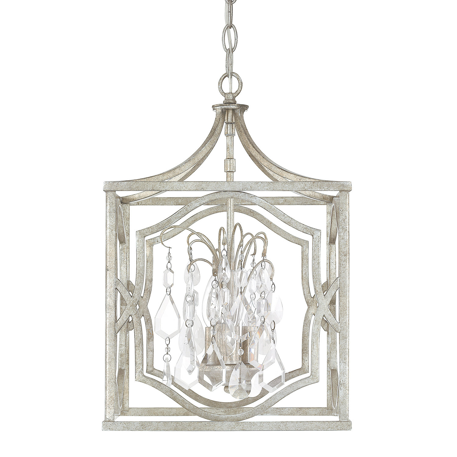 Destrey 3 Light Lantern Pendant & Reviews | Joss & Main In Destrey 3 Light Lantern Square/rectangle Pendants (Gallery 8 of 30)
