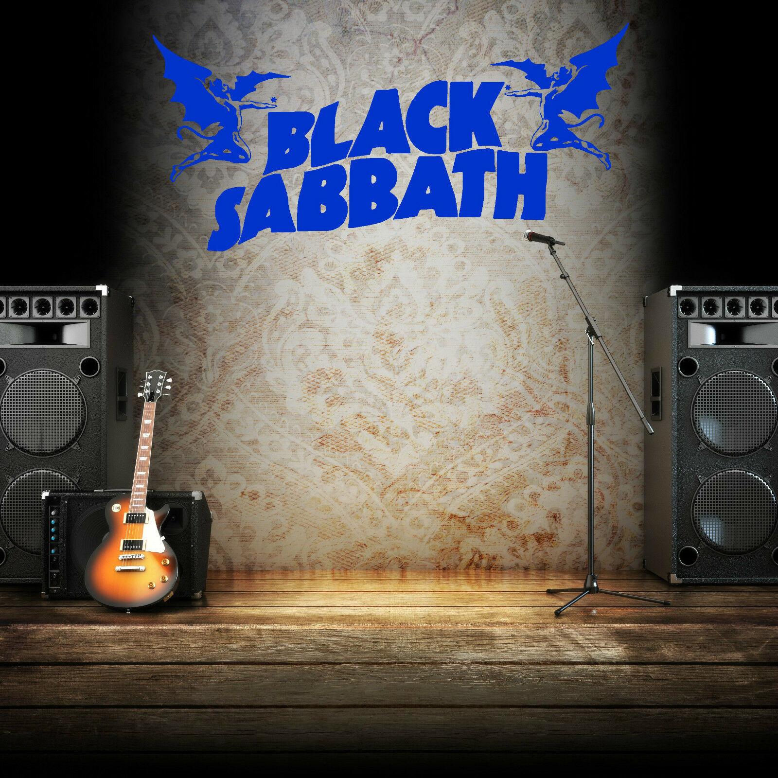 Details About Black Sabbath Ozzy Osbourne Vinyl Wall Art Sticker Decal Within Osbourne Wall Decor (Photo 19 of 30)
