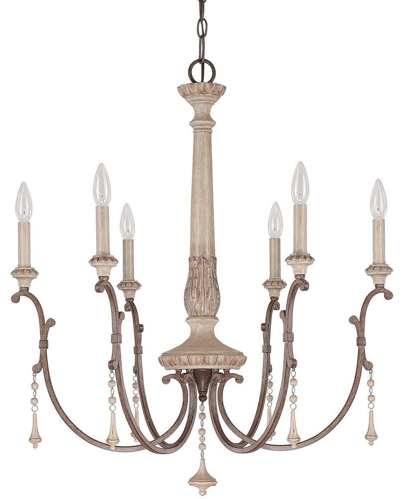 Details About Capital Lighting Chateau French Oak French Intended For Bouchette Traditional 6 Light Candle Style Chandeliers (Gallery 14 of 30)