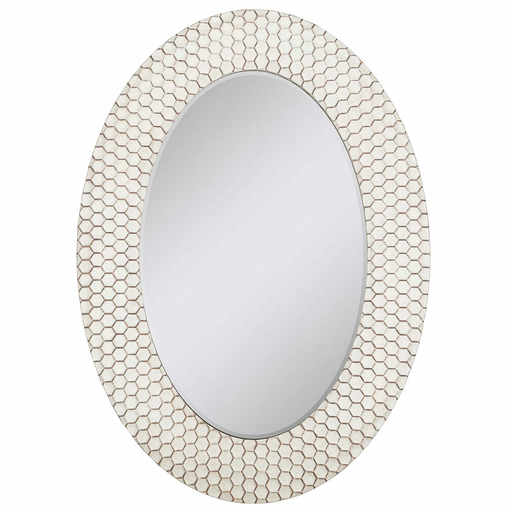 Details About Mercer41 Crumb Honeycomb Cell Modern & Contemporary Beveled Accent Mirror Throughout Modern & Contemporary Beveled Accent Mirrors (Gallery 26 of 30)