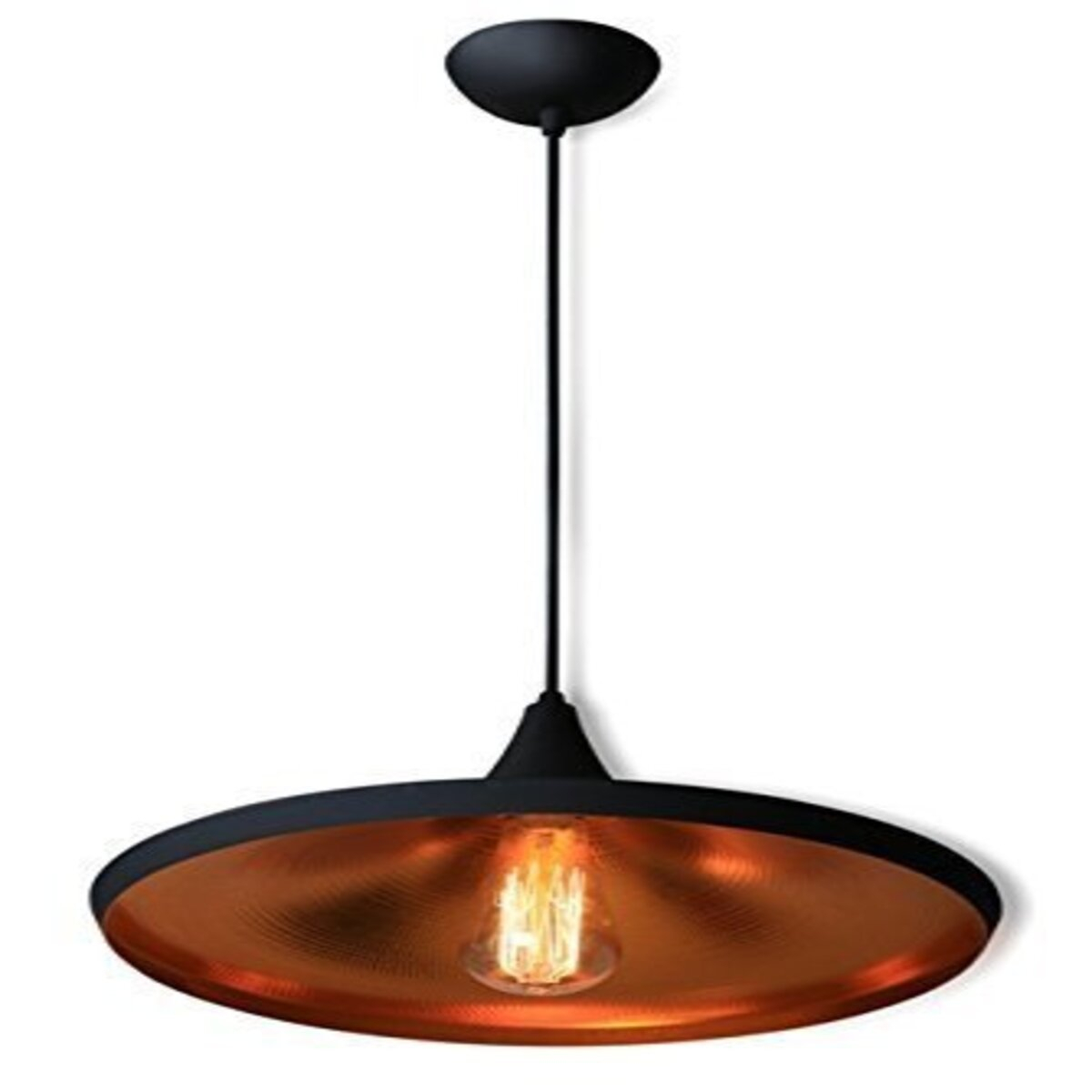 Details About Pendant Light Led Ceiling Lights Lamp Shade Industrial Cafe  Lighting Kitchen Bar For Akash Industrial Vintage 1 Light Geometric Pendants (Photo 16 of 30)