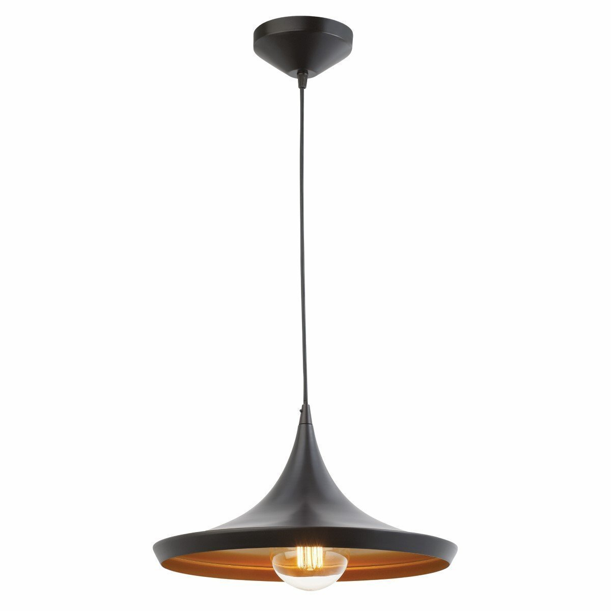 Details About Pendant Light Led Ceiling Lights Lamp Shade Industrial Cafe Lighting Kitchen Bar Intended For Akash Industrial Vintage 1 Light Geometric Pendants (View 9 of 30)