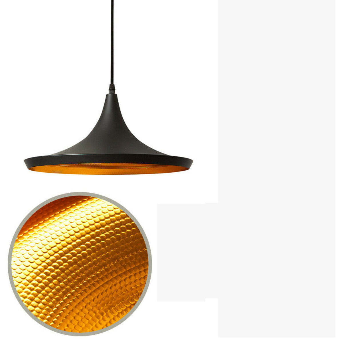Details About Pendant Light Led Ceiling Lights Lamp Shade Industrial Cafe Lighting Kitchen Bar Pertaining To Akash Industrial Vintage 1 Light Geometric Pendants (View 11 of 30)