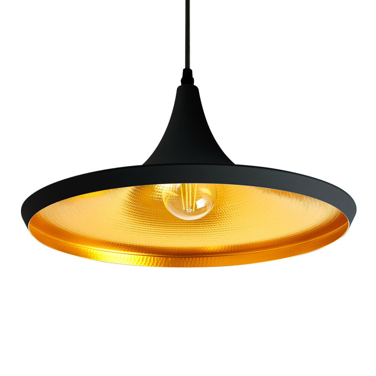 Details About Pendant Light Led Ceiling Lights Lamp Shade Industrial Cafe Lighting Kitchen Bar Pertaining To Akash Industrial Vintage 1 Light Geometric Pendants (View 4 of 30)