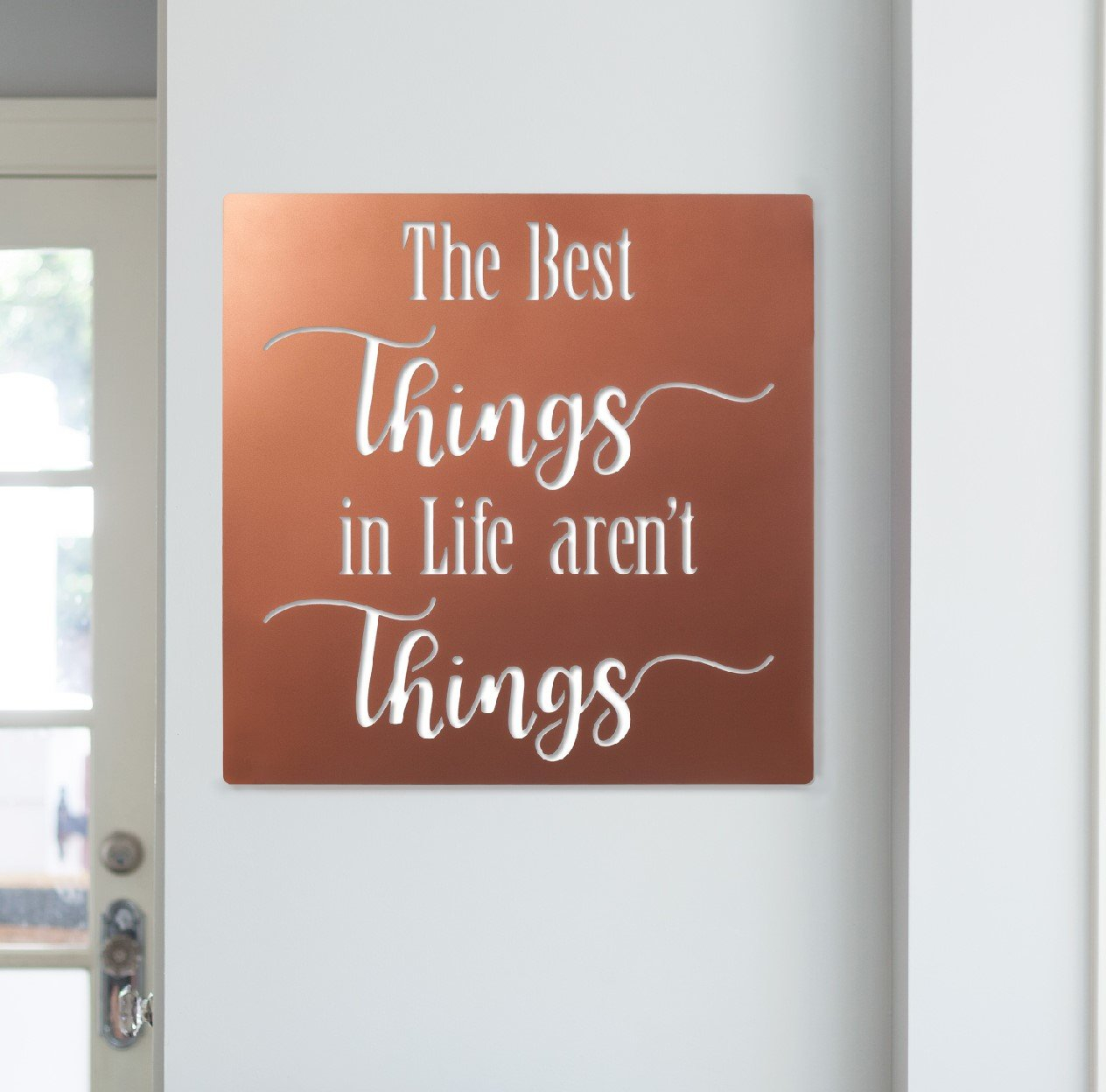 Details About Winston Porter Inspirational Sign Metal Laser Cut Wall Decor Inside Metal Wall Decor By Winston Porter (Gallery 8 of 30)