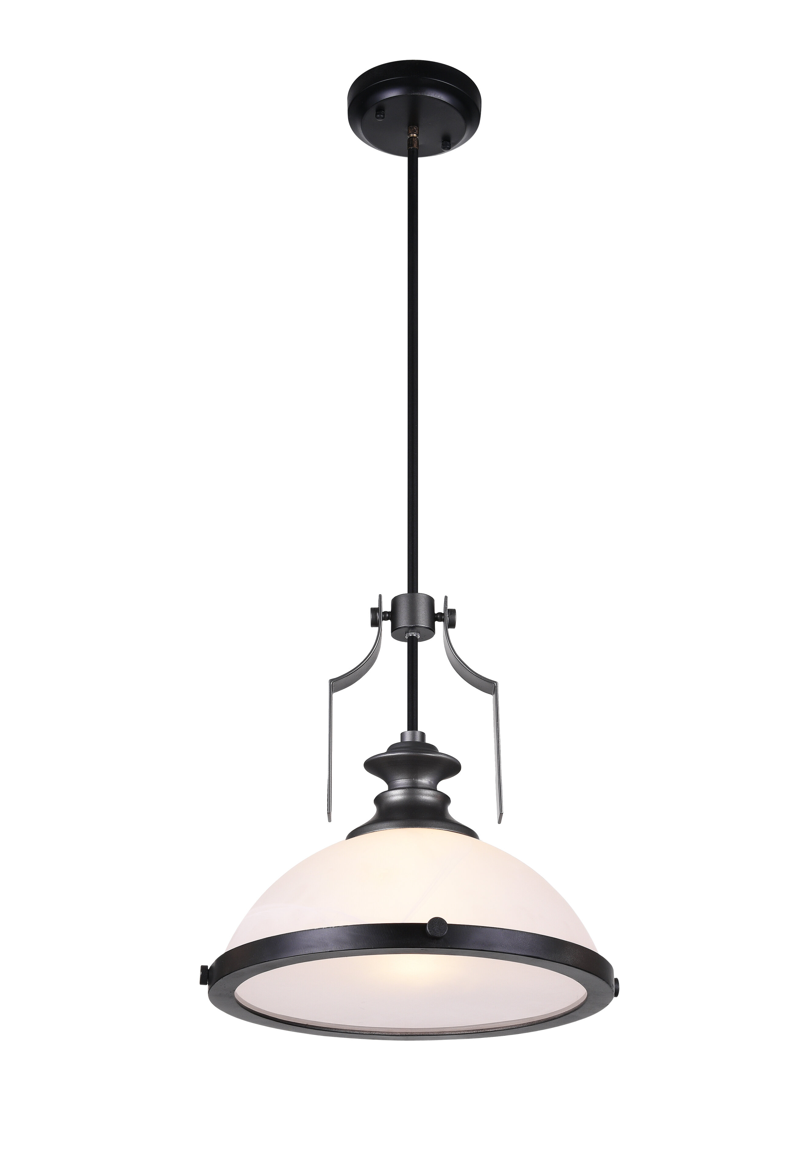 Detti 1 Light Dome Pendant With Regard To Terry 1 Light Single Bell Pendants (Gallery 6 of 30)