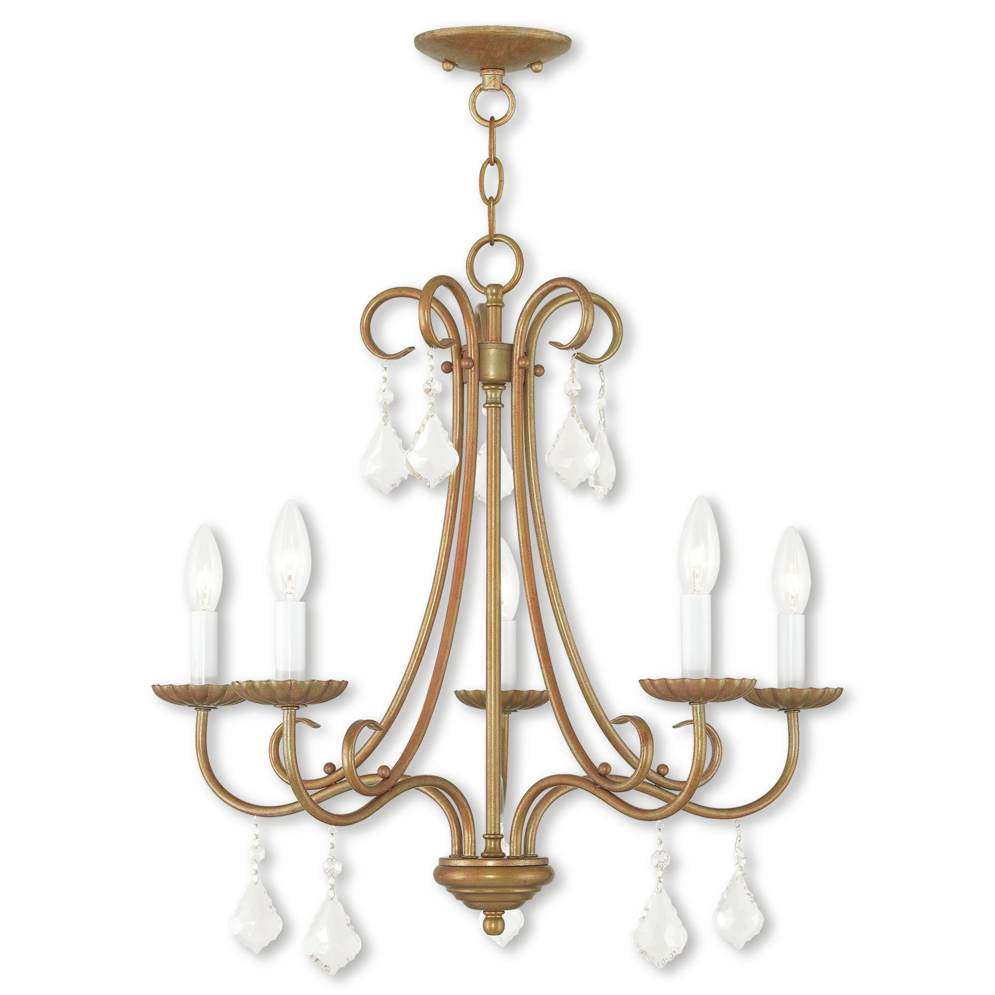 Devan 5 Light Candle Style Chandelier Within Blanchette 5 Light Candle Style Chandeliers (Gallery 13 of 30)