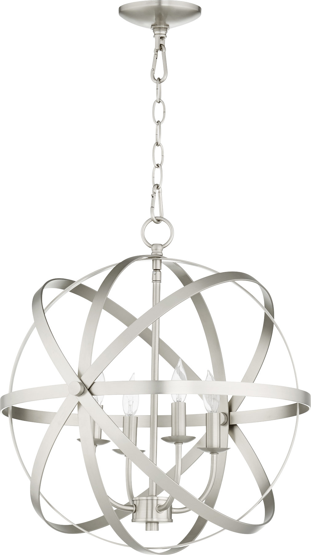 Dian 4-Light Globe Chandelier regarding Joon 6-Light Globe Chandeliers (Image 4 of 30)