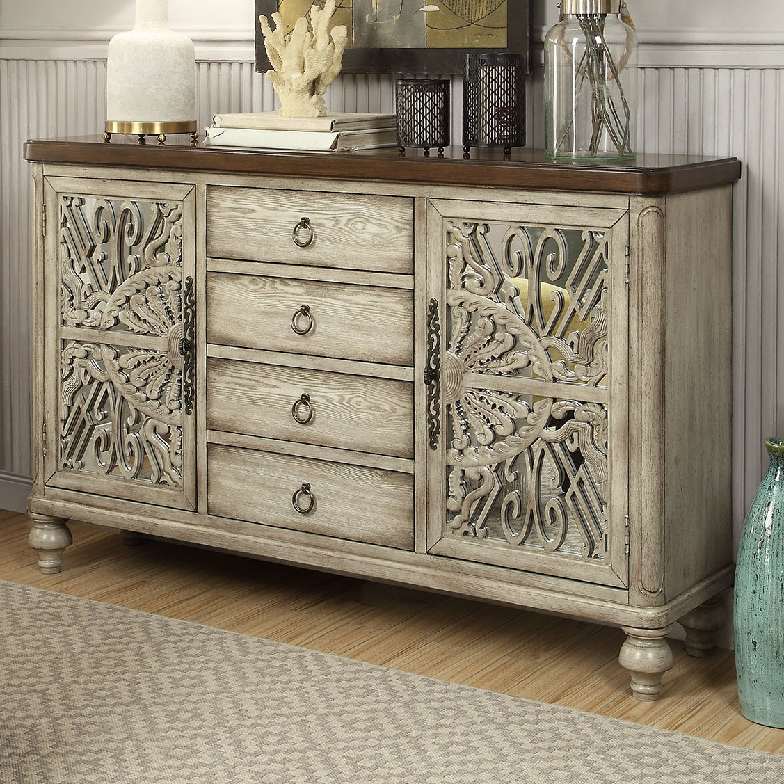 Dillen Sideboard & Reviews | Joss & Main pertaining to Mauzy Sideboards (Image 7 of 30)