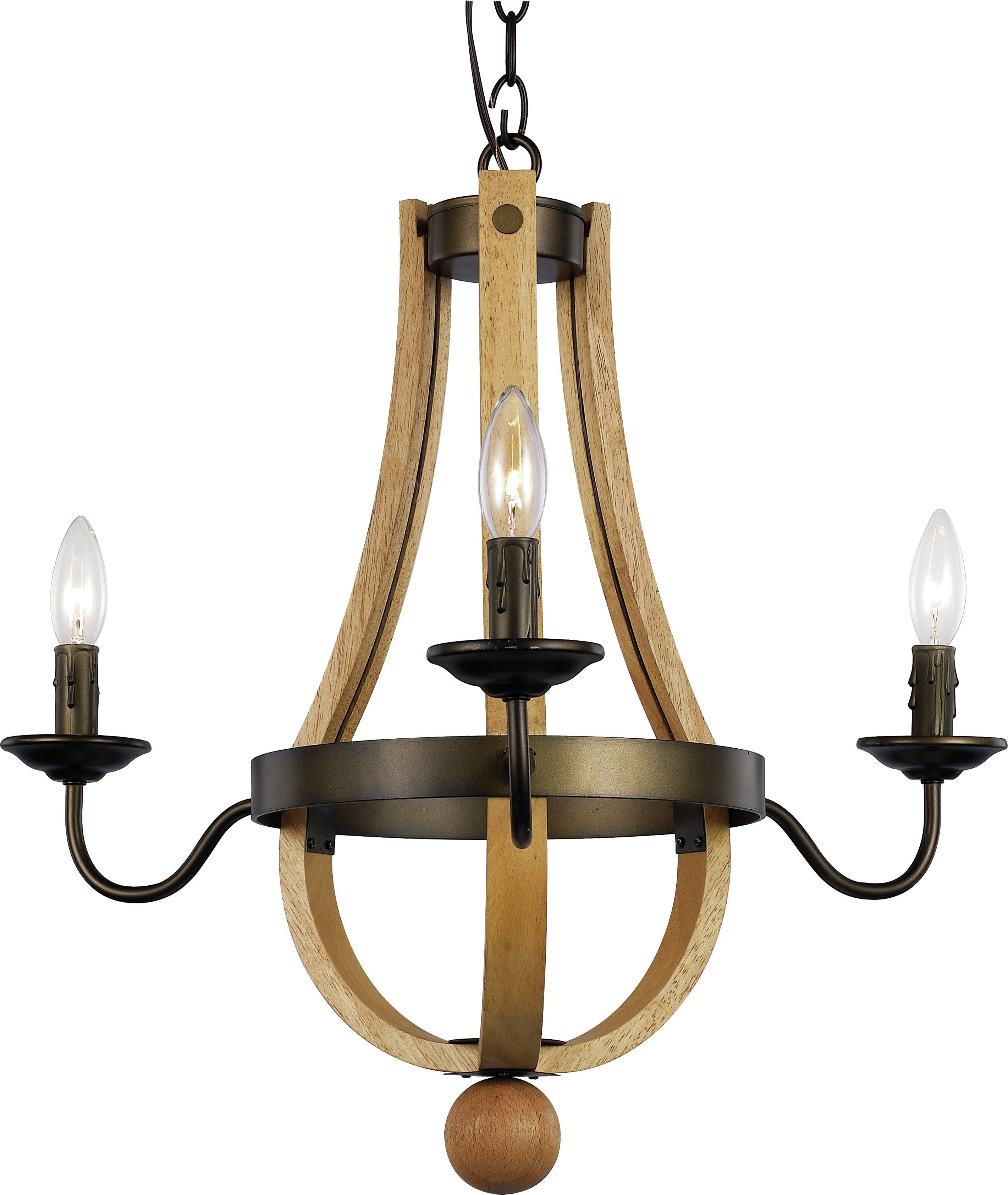 Dimitri 3 Light Empire Chandelier Intended For Finnick 3 Light Lantern Pendants (View 16 of 30)