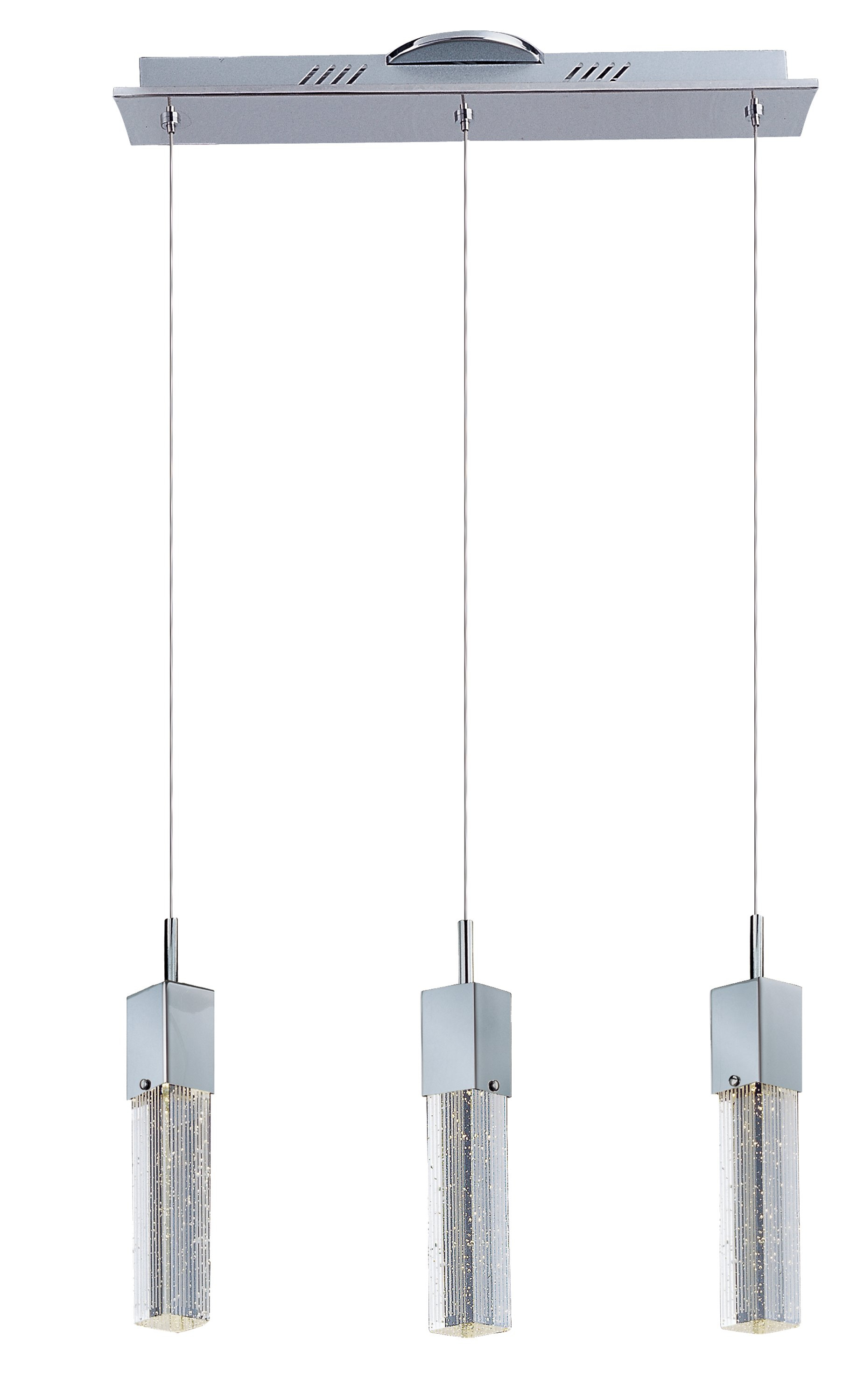 Diphda 3 Light Led Pendant Throughout Zachery 5 Light Led Cluster Pendants (Photo 3 of 30)