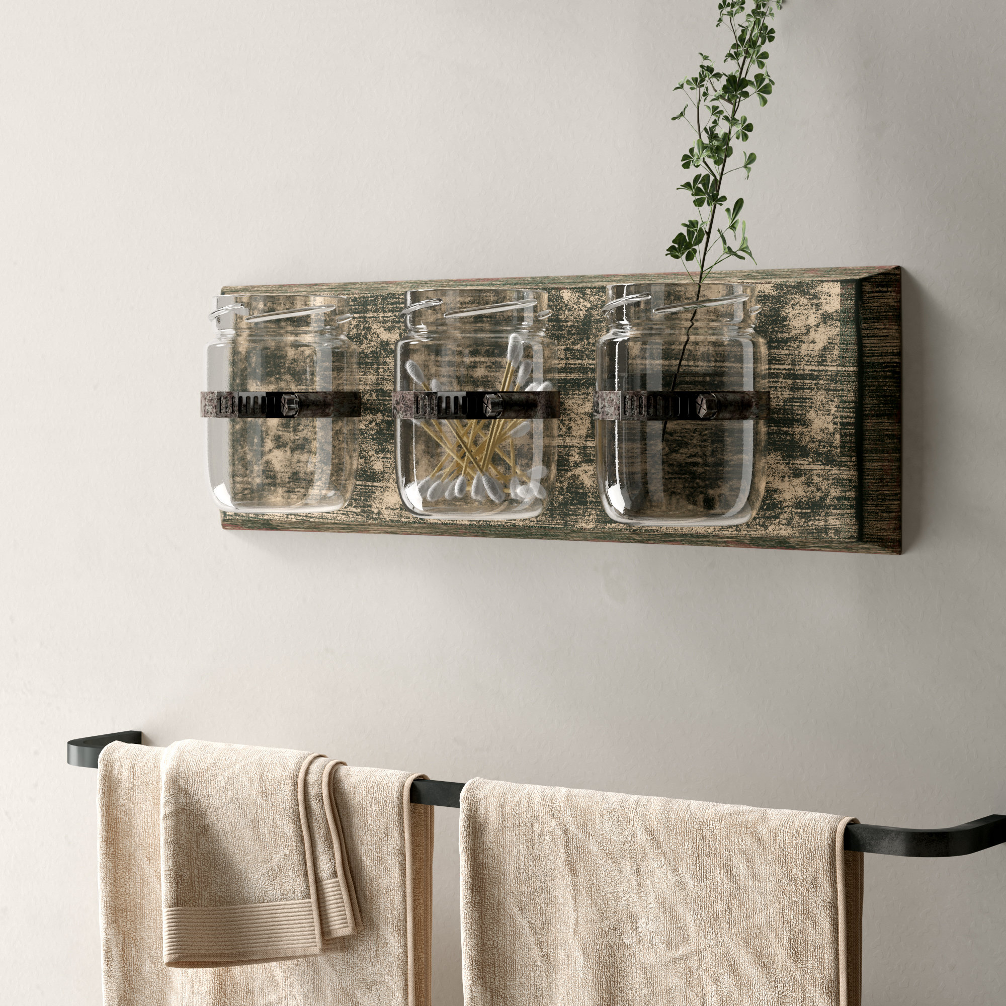 Distressed Wall Accents You'll Love | Wayfair (View 3 of 30)