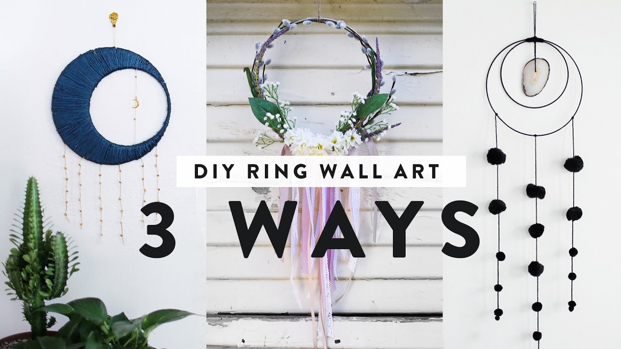 Featured Photo of Rings Wall Decor