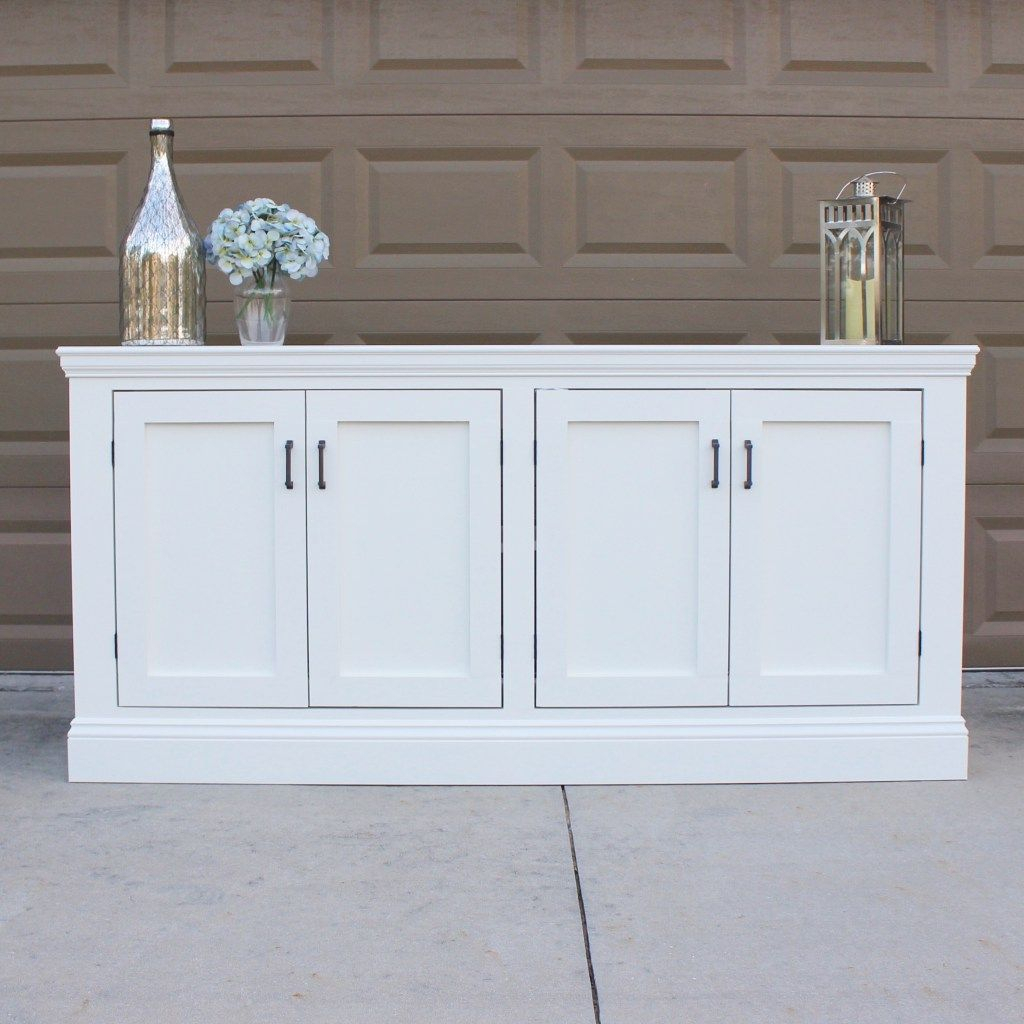 Diy Sideboard | Dyi In 2019 | Tv Stand Sideboard, Dining Within Lainey Credenzas (Photo 27 of 30)