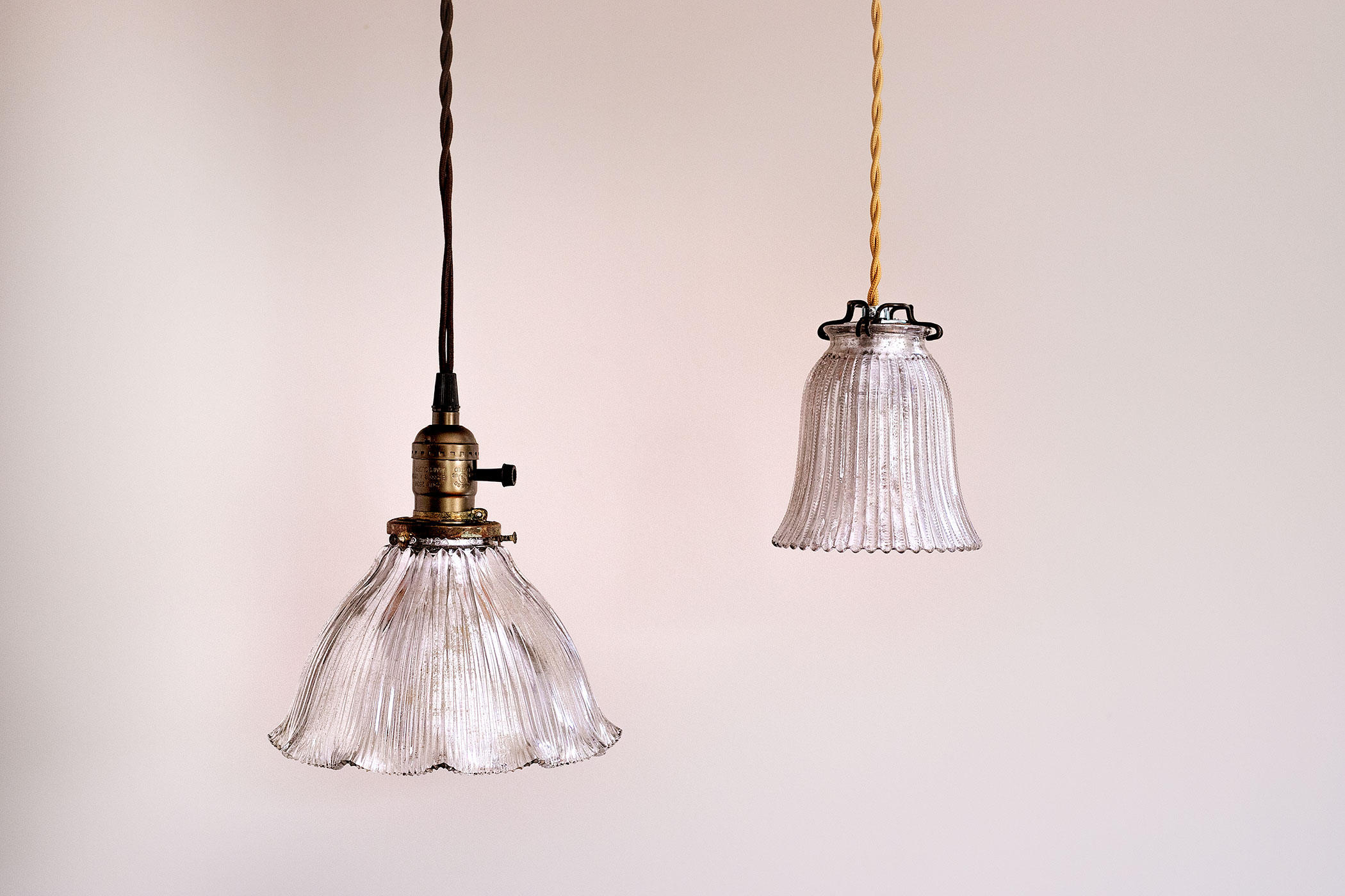 Diy: Vintage Looking Mercury Glass Pendant Lights For $25 Pertaining To Sargent 1 Light Single Bell Pendants (Photo 30 of 30)