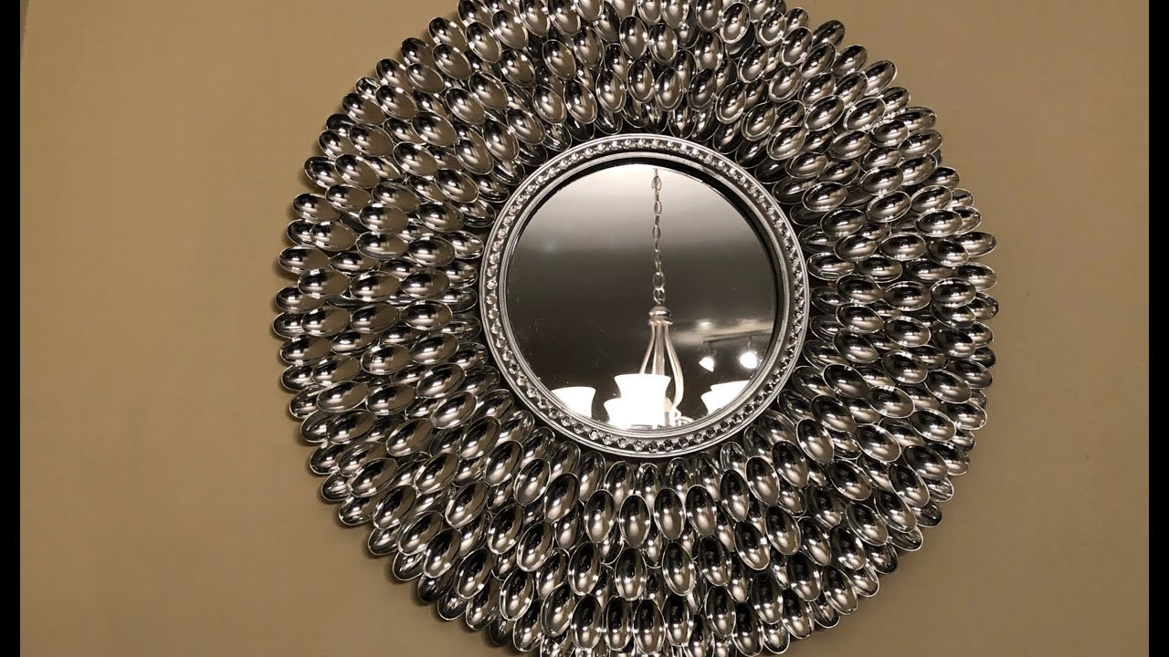 Dollar Tree Diy   💕 Decorative Wall Decor💕 For Deniece Sunburst Round Wall Mirrors (Photo 24 of 30)