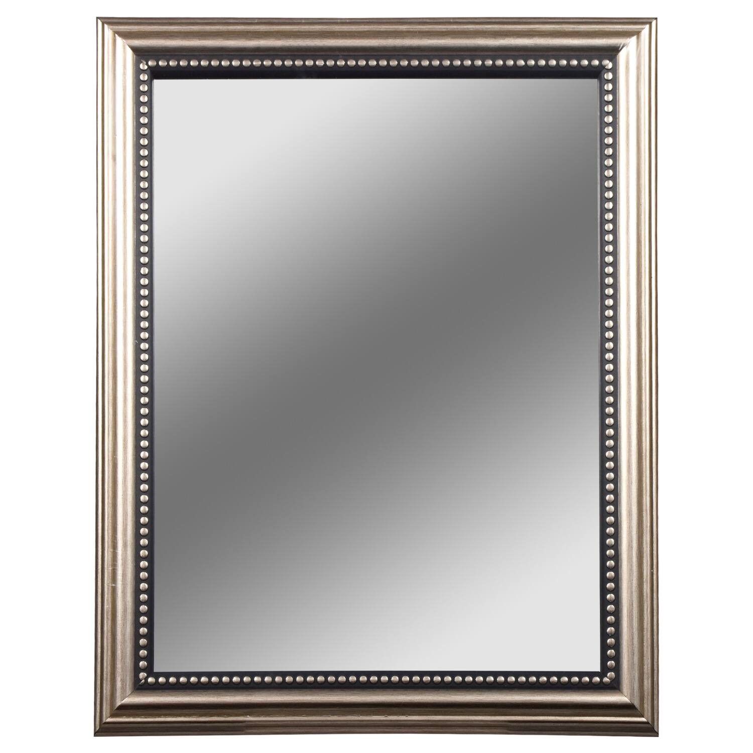 Dollartree | Bulk Accent Mirrors With Silver Plastic Within Silver Frame Accent Mirrors (Gallery 7 of 30)