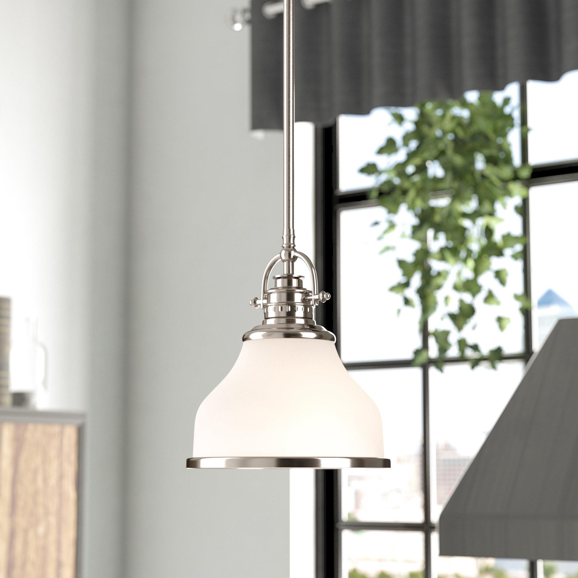 Dome Mini Pendants You'll Love | Wayfair.ca inside Abernathy 1-Light Dome Pendants (Image 16 of 30)