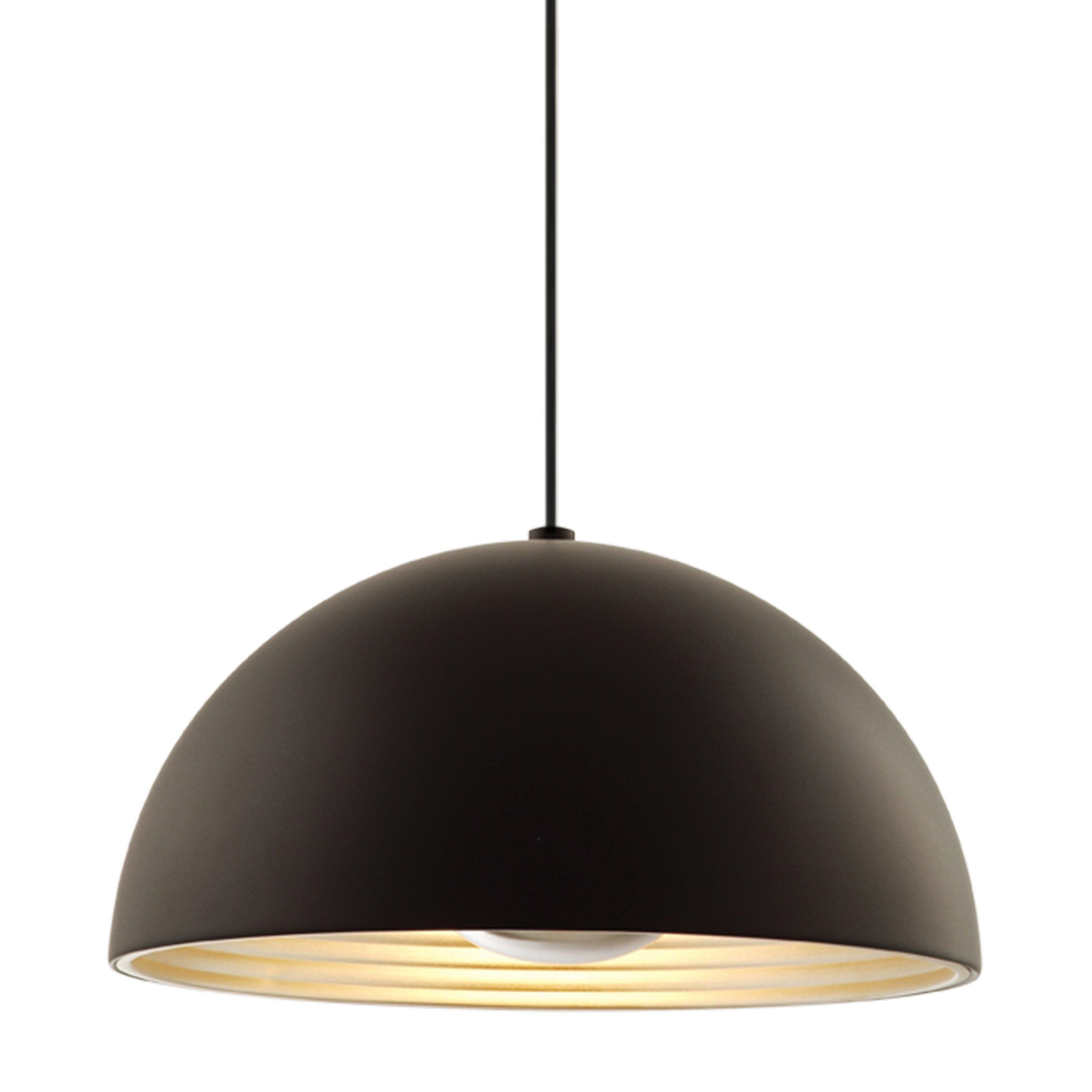Dome Pendant Medium In 2019 | Alta House | Ceiling Fixtures In Adriana Black 1 Light Single Dome Pendants (Image 11 of 30)