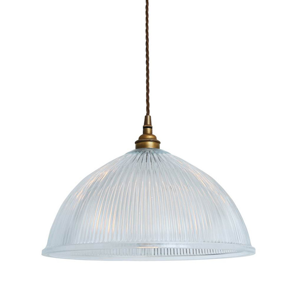 Dome Prismatic Pendant Light   Large Pertaining To Amara 2 Light Dome Pendants (Photo 2 of 30)