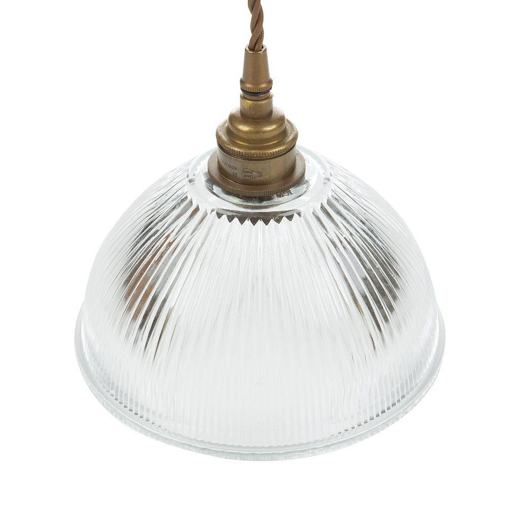 Dome Prismatic Pendant Light – Small Intended For Amara 3 Light Dome Pendants (Image 13 of 30)