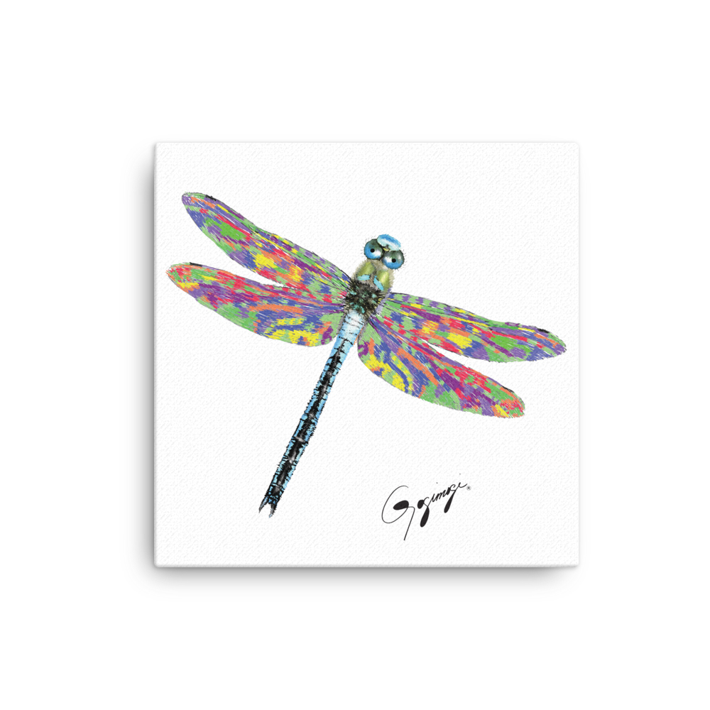 Dragonfly Wall Artgogimogi – Dragonfly Design On Canvas – Dragonfly Digital Print – Dragonfly Wall Decor – Modern Wall Art Regarding Dragonfly Wall Decor (Gallery 1 of 30)