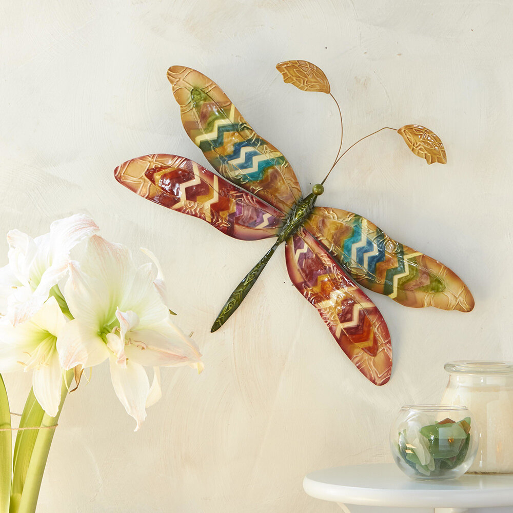 Dragonfly Wall Decor With Regard To Dragonfly Wall Decor (Photo 6 of 30)