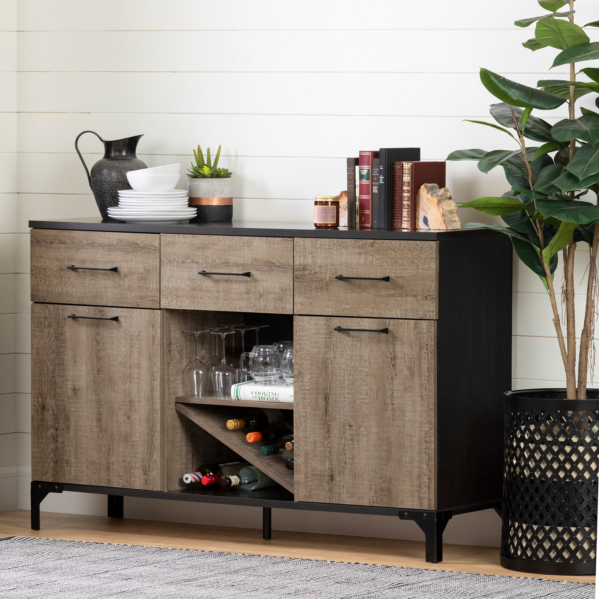Drawer Equipped Sideboards & Buffets You'll Love In 2019 Pertaining To Joyner Sideboards (Image 9 of 30)