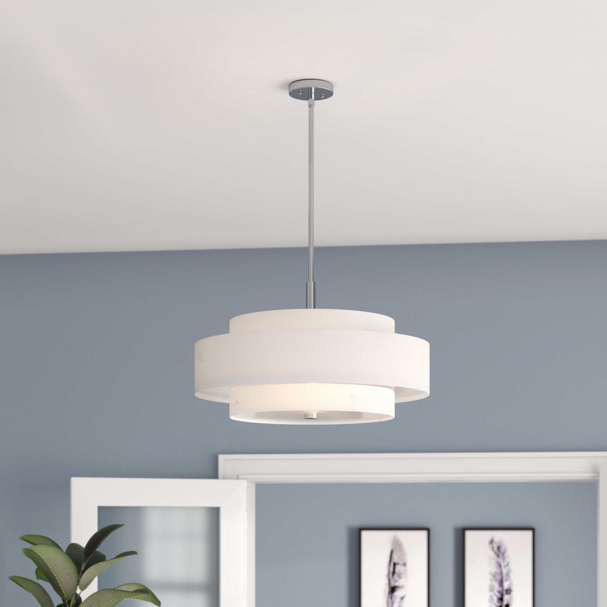Drum Chandeliers Sale – Up To 65% Off Until September 30th Throughout Breithaup 7 Light Drum Chandeliers (View 11 of 30)