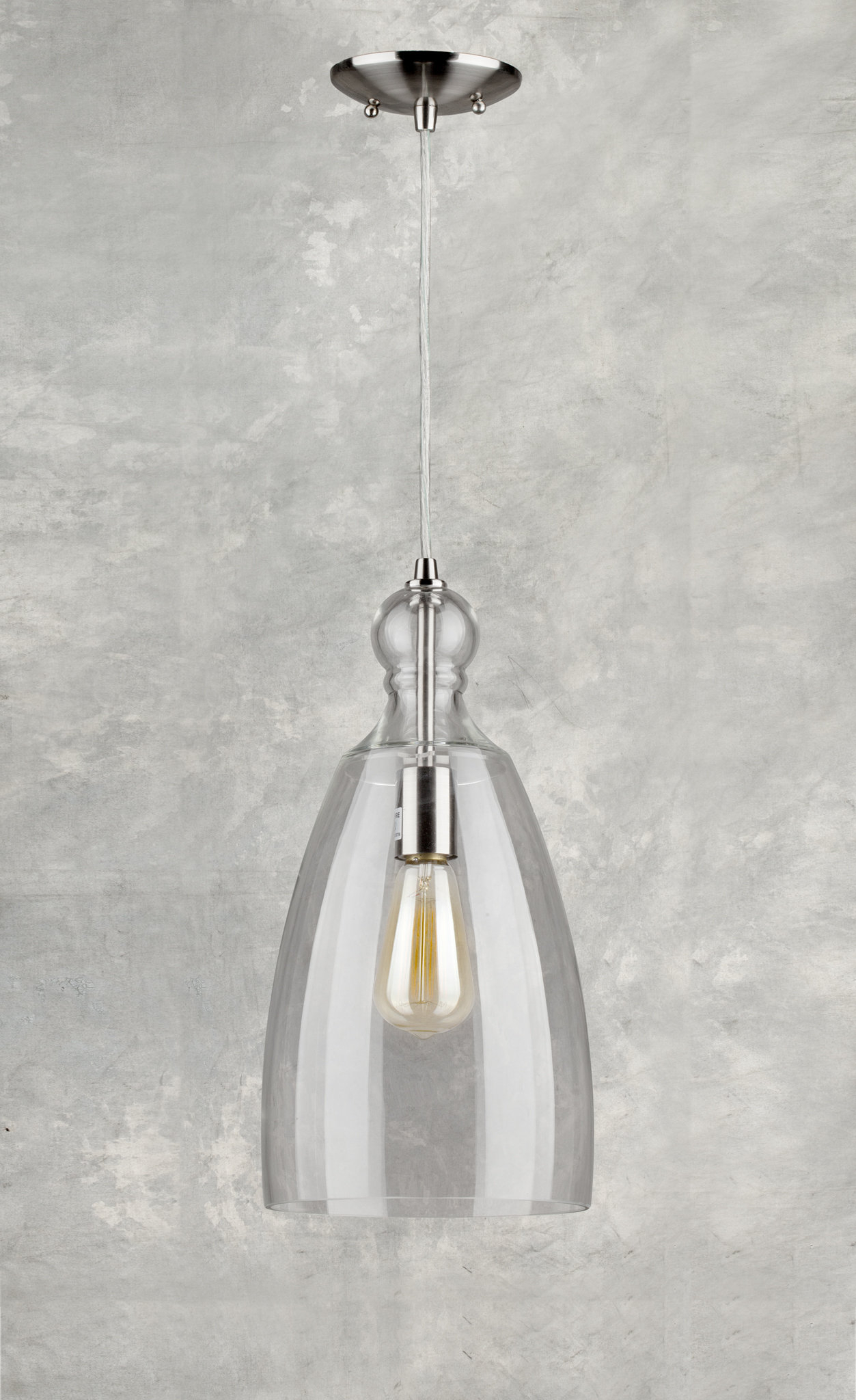 Du Bois Cord Hung 1 Light Bell Pendant In Houon 1 Light Cone Bell Pendants (Gallery 16 of 30)