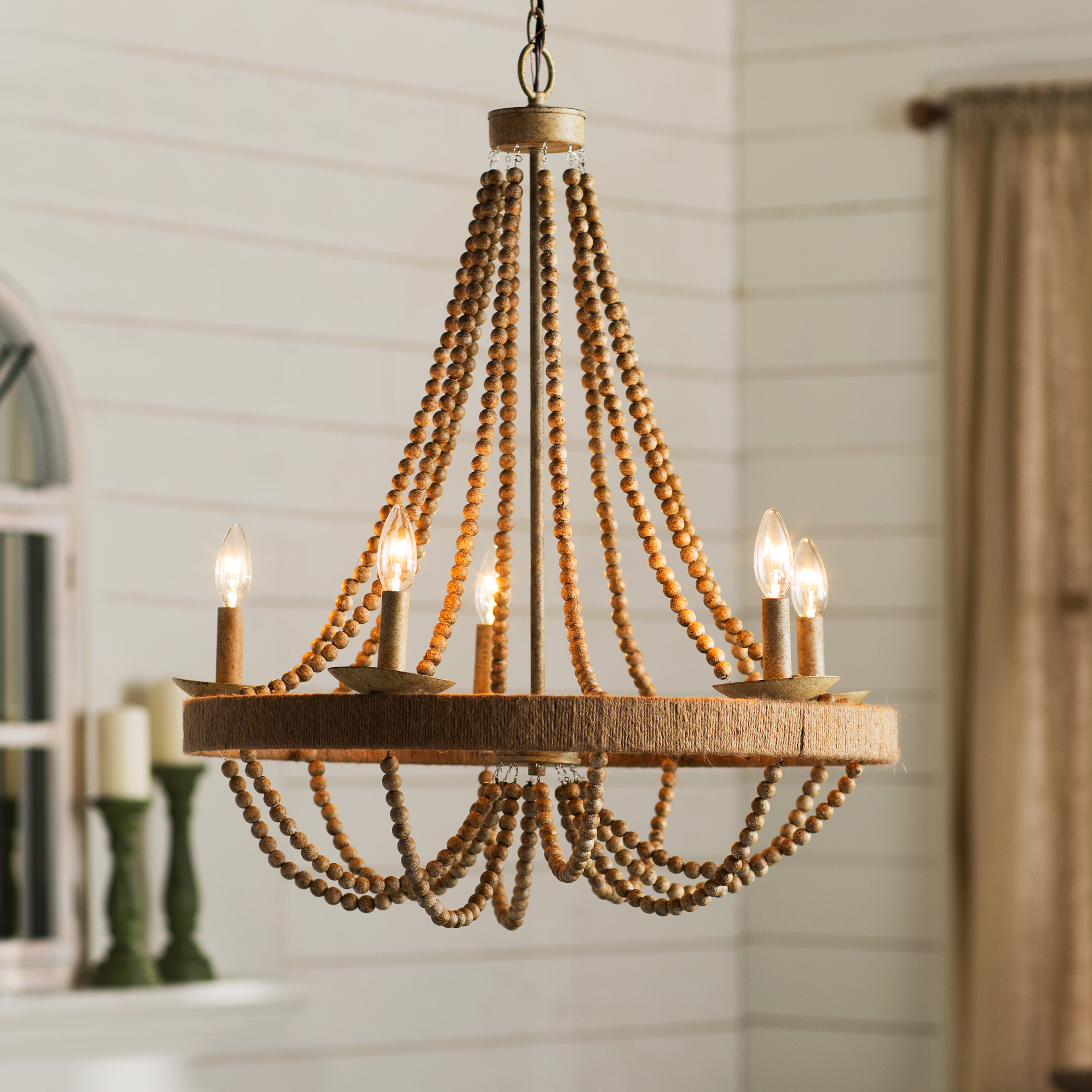 Duron 5 Light Empire Chandelier With Regard To Ladonna 5 Light Novelty Chandeliers (Photo 4 of 30)