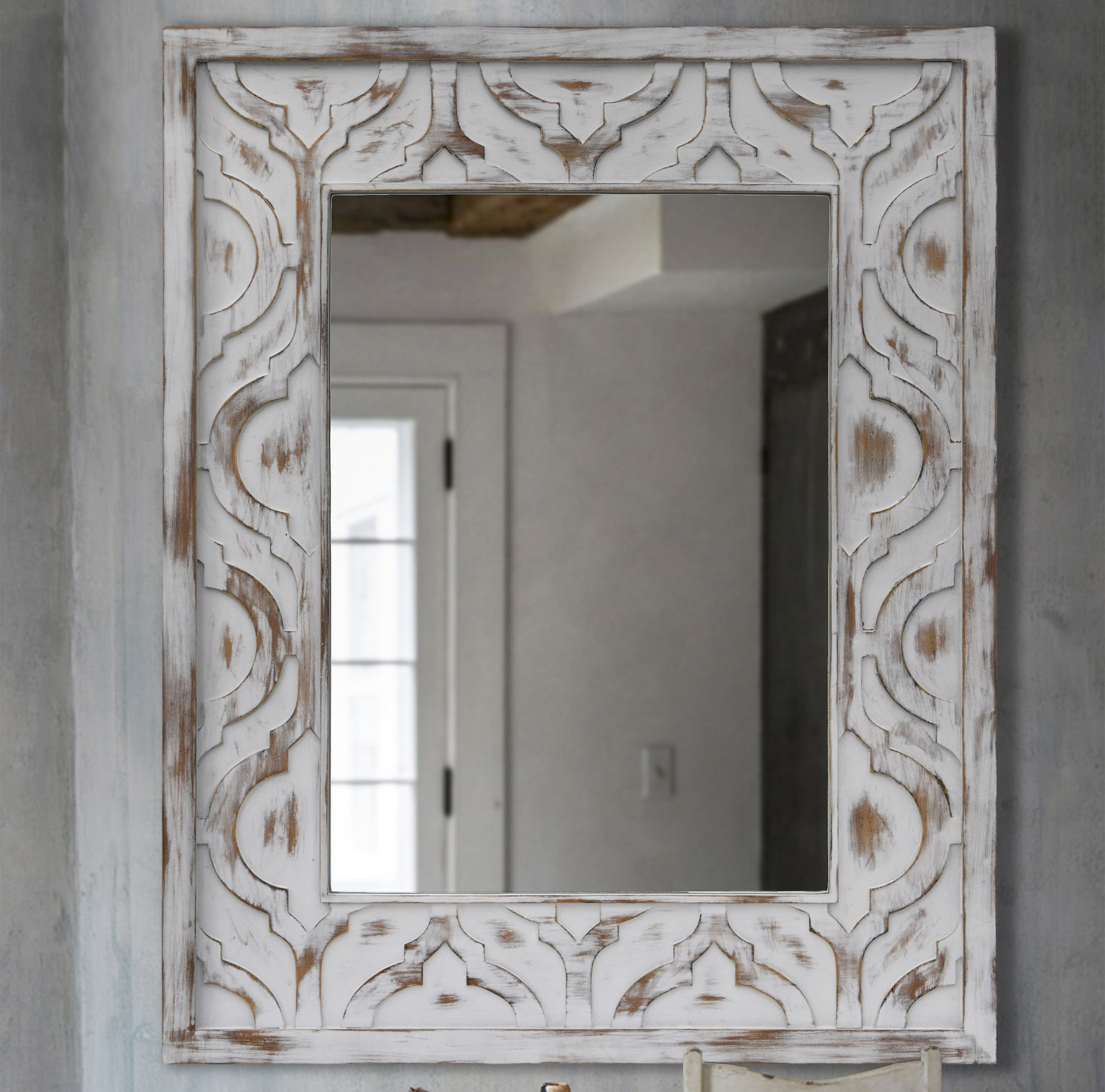 Durrah Wall Mirror Throughout Marion Wall Mirrors (Gallery 12 of 30)